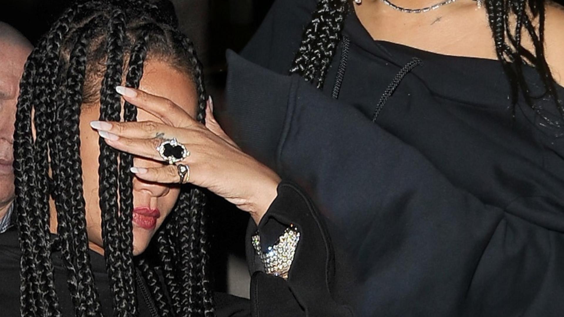 Też wracacie jak Rihanna z imprezy o 6 rano? Mocno zaszalała na afterparty BAFTA (ZDJĘCIA)