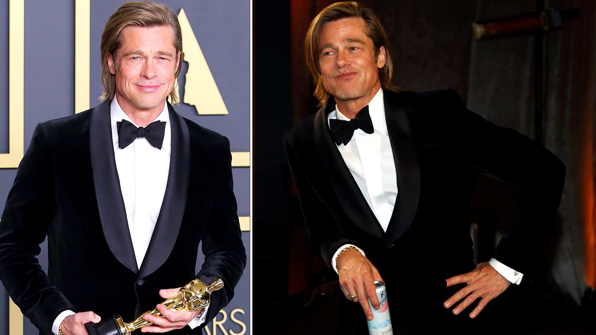Brad Pitt z Oscarem! (ZDJĘCIA)