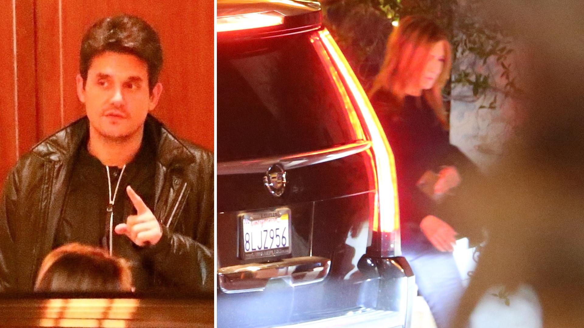 Jennifer Aniston spotkała się z byłym chłopakiem, Johnem Mayerem?