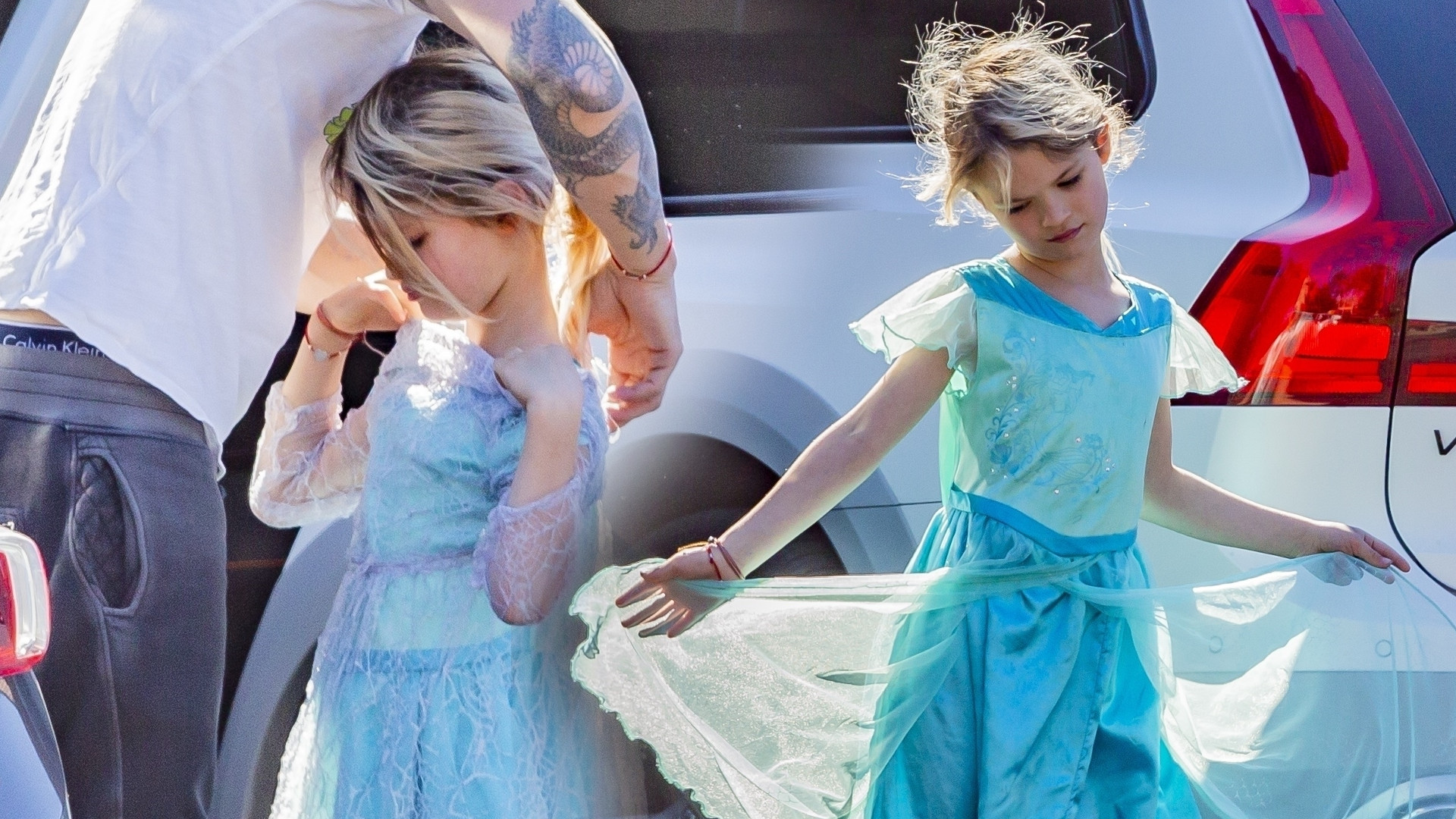 7-letni syn Megan Fox w długiej sukni na urodzinowym party (ZDJĘCIA)