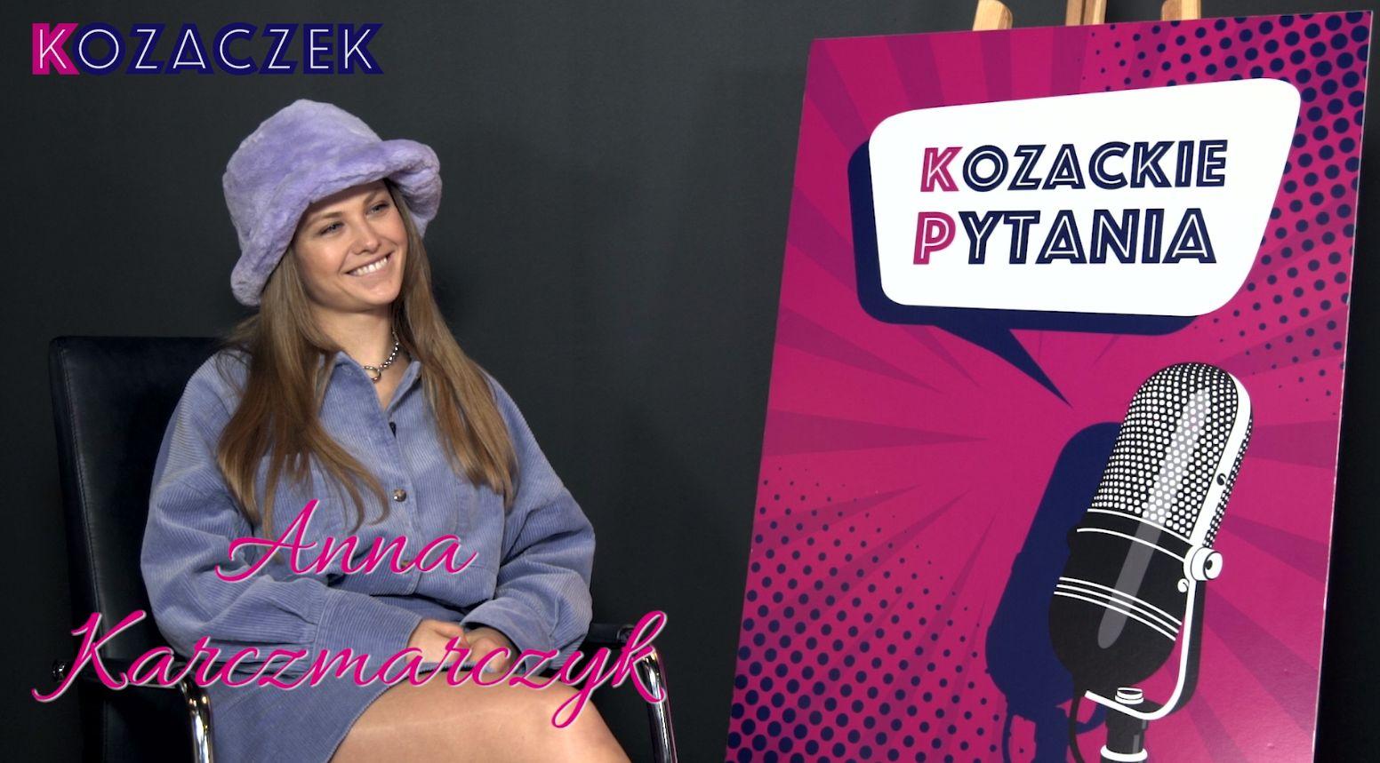 Tylko u nas! Anna Karczmarczyk w NOWYM cyklu VIDEO Kozackie pytania