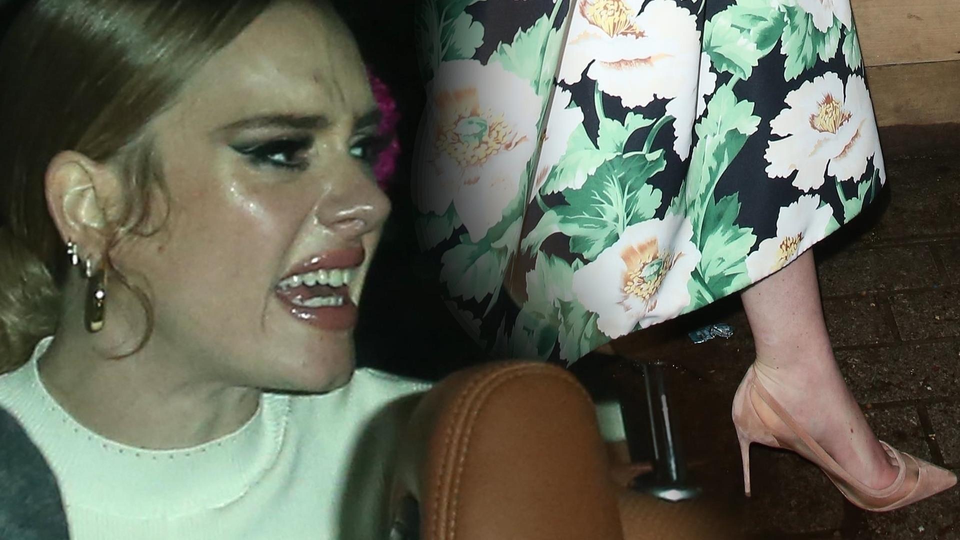 WŚCIEKŁA i CHUDA Adele przyłapana przez paparazzi (ZDJĘCIA)