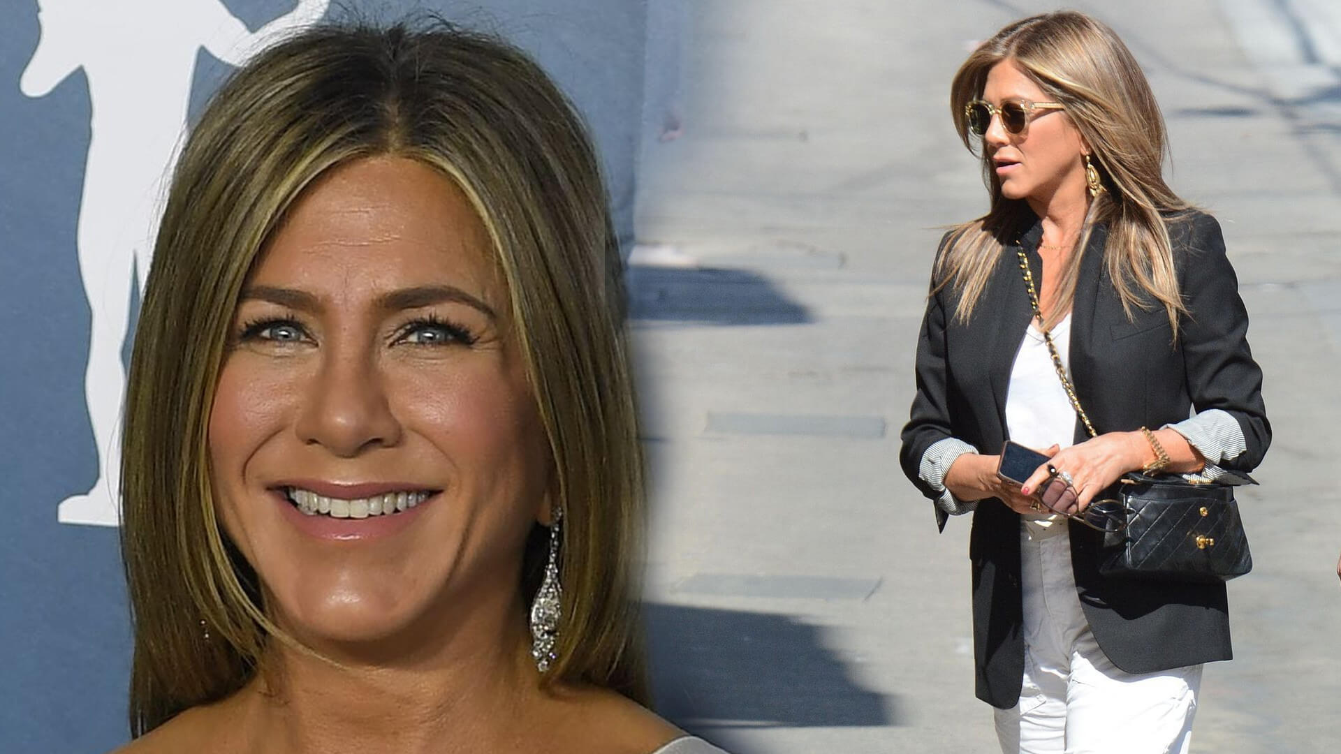Jennifer Aniston w drodze na swoje przyjęcie urodzinowe. Naprawdę ma 51 lat? (FOTO)