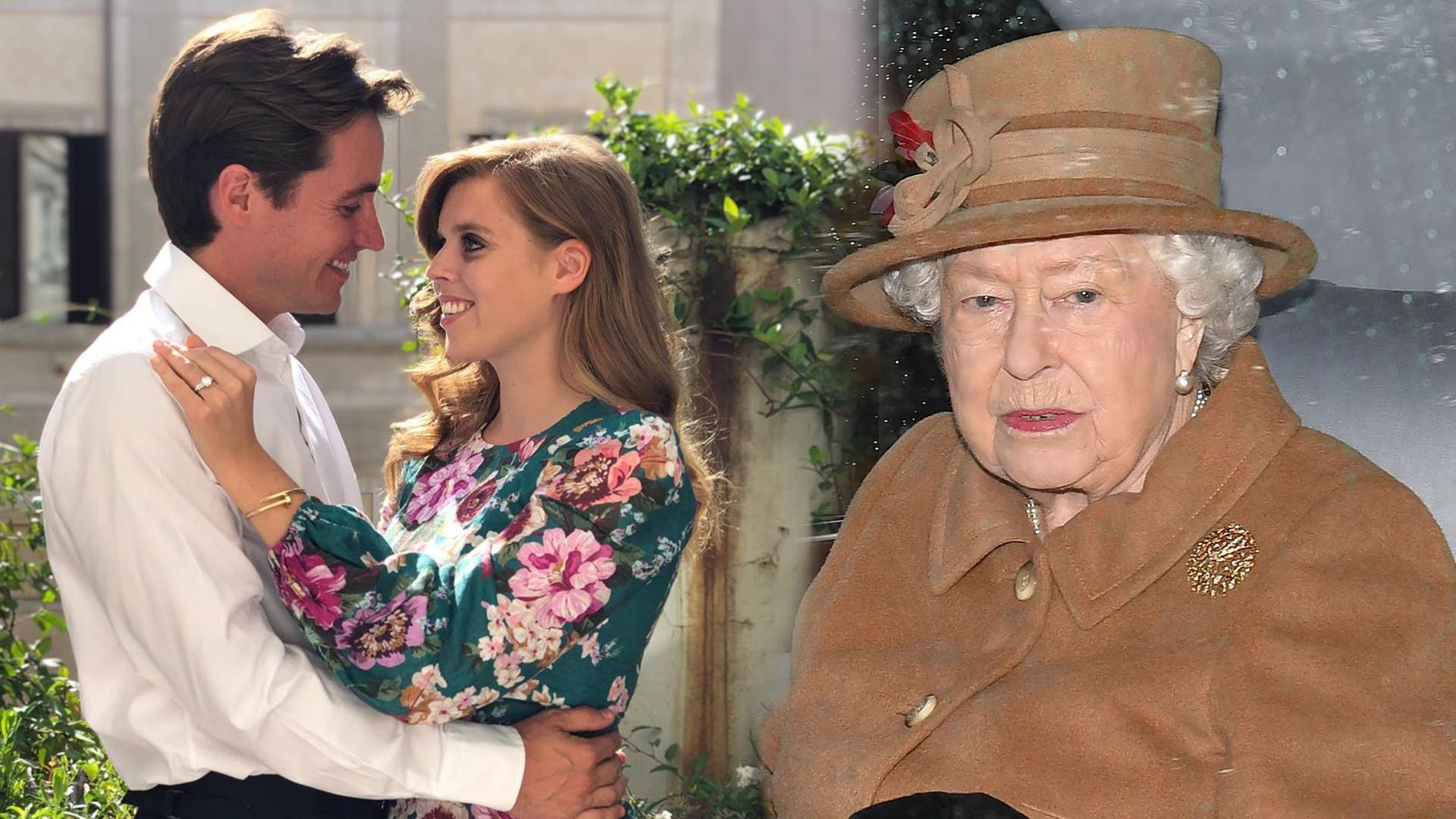 Ślub księżniczki Beatrice odbędzie się w pałacu Buckingham! Została nową ulubienicą Królowej?
