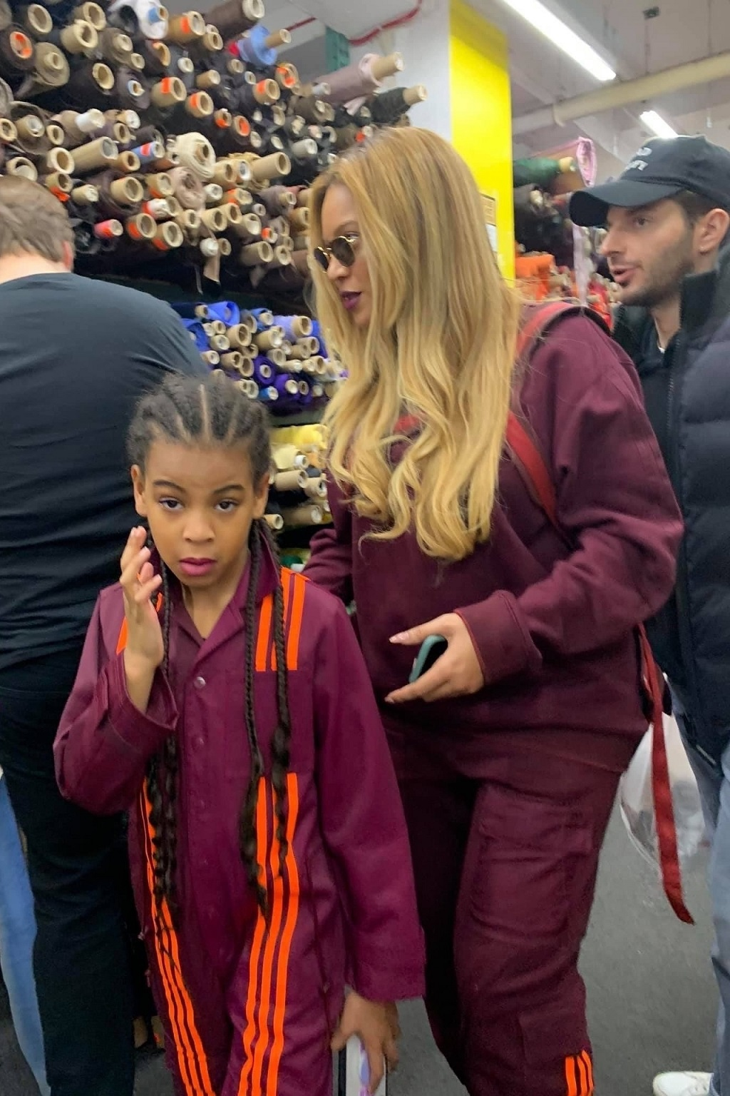 Beyonce z córką Blue Ivy