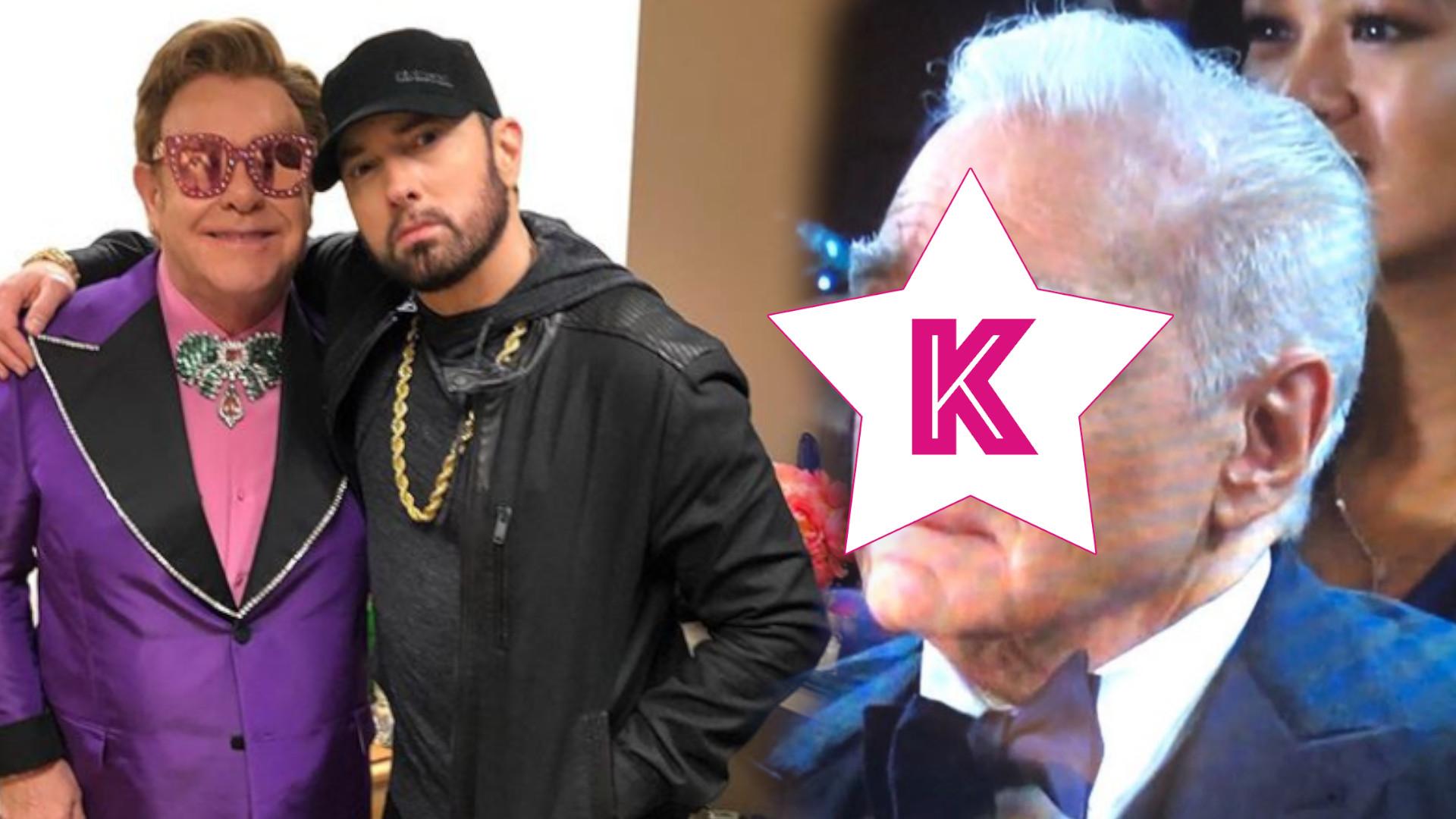 Eminem spóźnił się o 17 lat z występem na gali Oscarów. Mina Martina Scorsese'a stała się VIRALEM