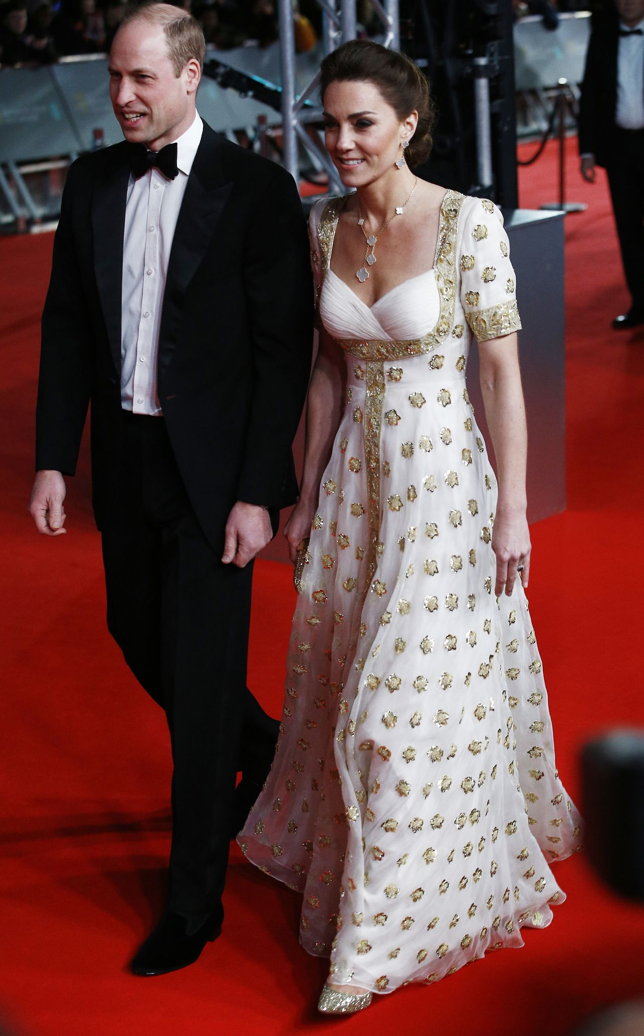 BAFTA 2020. Księżna Kate ZASKOCZYŁA kreacją. Dobrze wyglądała?