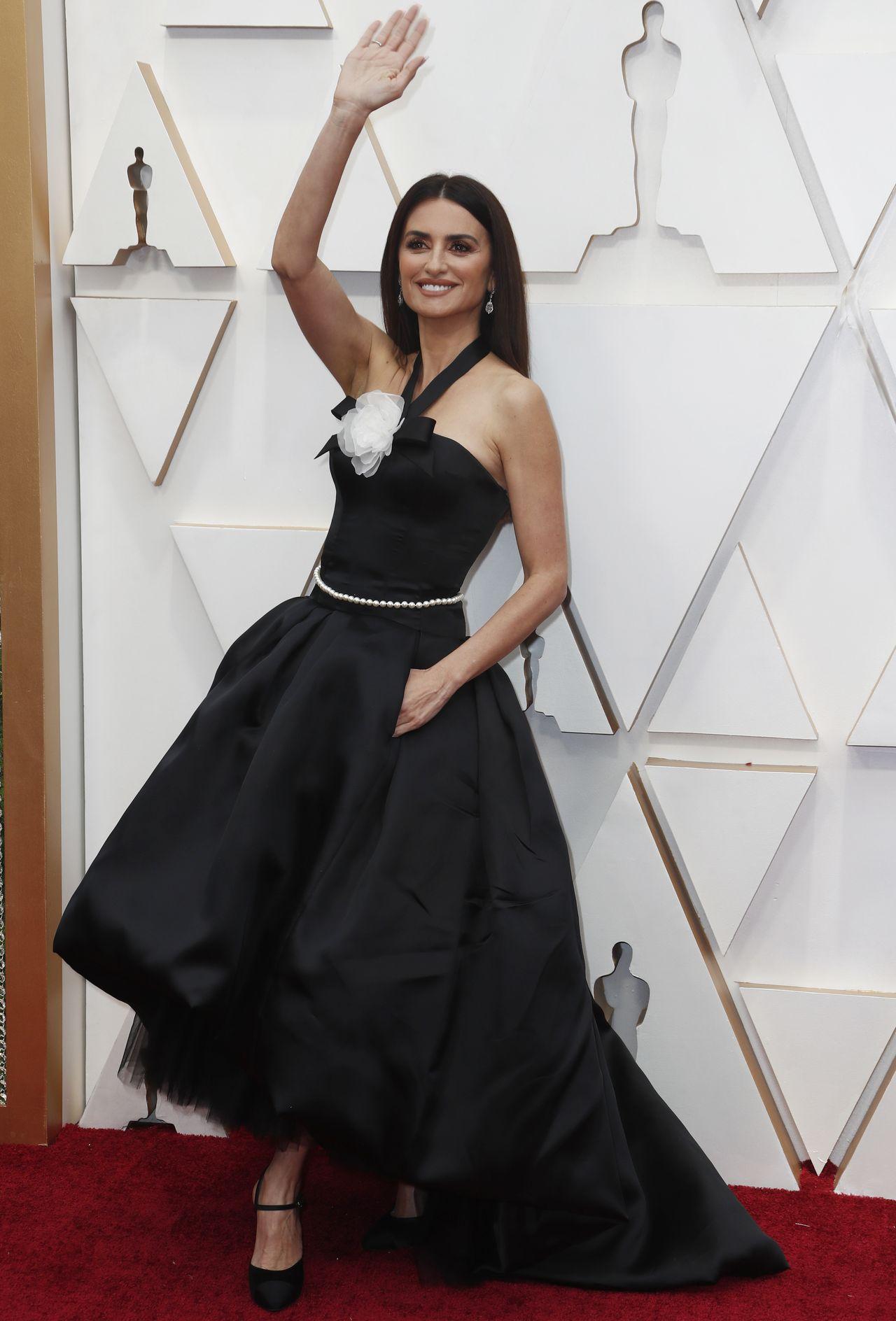 Elegancka Penelope Cruz na gali rozdania Oscarów.