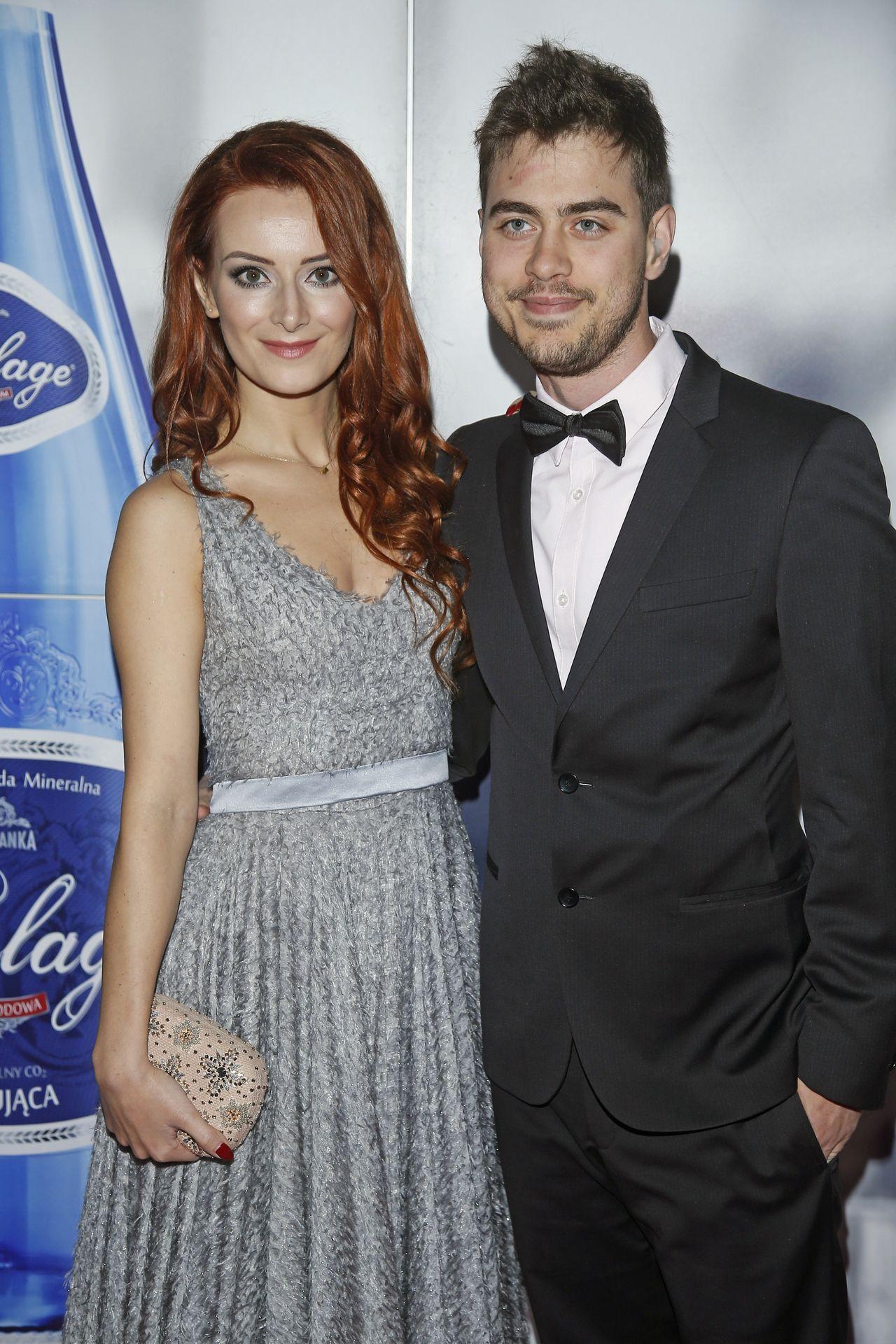 Iwona Cichosz z partnerem