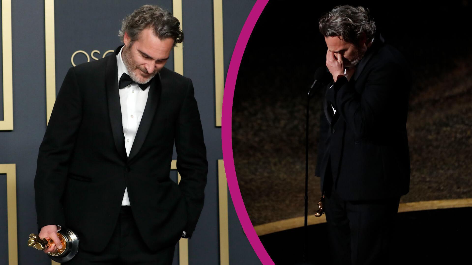 Joaquin Phoenix wspomniał zmarłego brata. EMOCJONALNE przemówienie