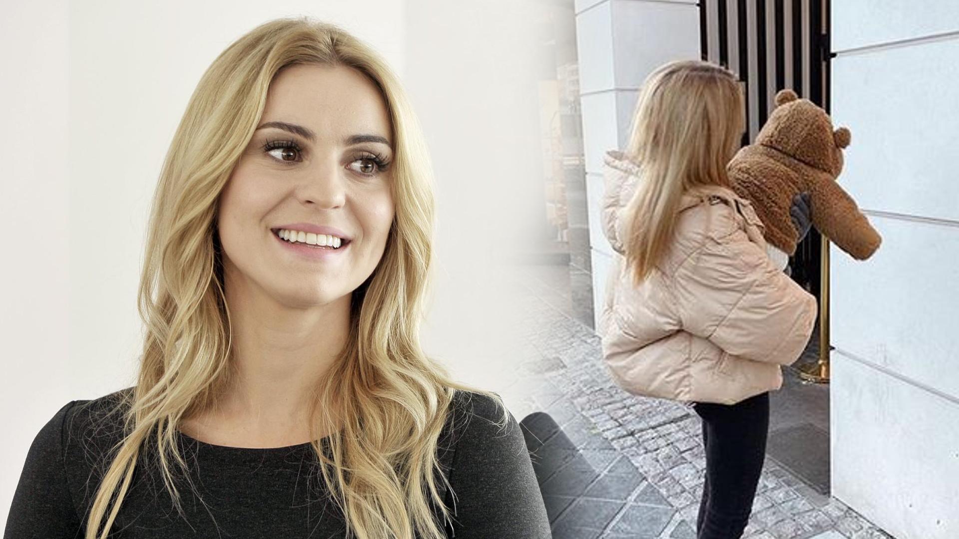 Kasia Tusk pokazała PIERWSZE kroki swojej córki