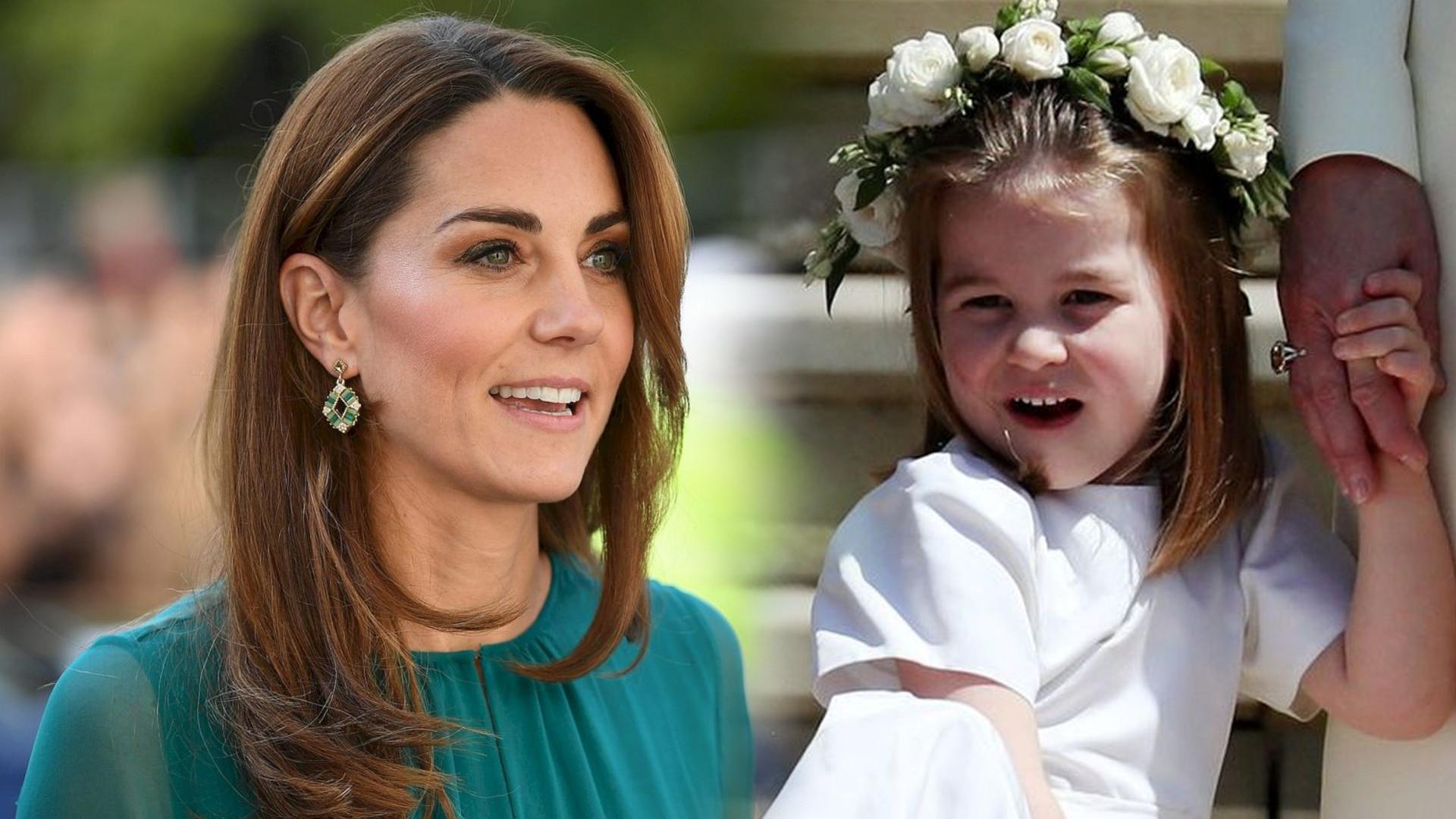 Księżna Kate pokazała nowe, urocze zdjęcie księżniczki Charlotte. Opowiedziała też, jak KOSZMARNIE znosiła ciążę