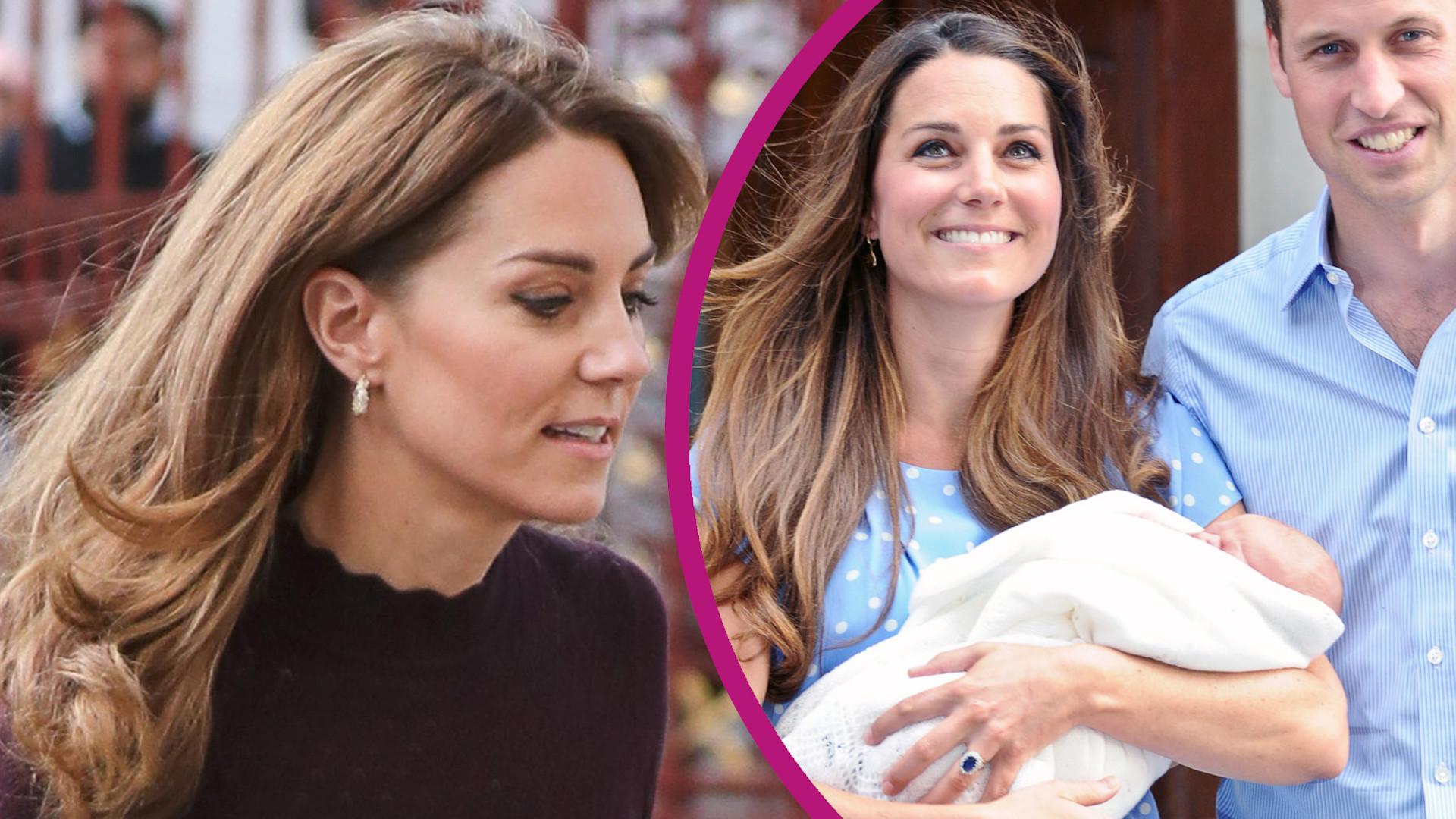 Książę George zastępowany LALKĄ. Księżna Kate zdradza szczegóły sesji po porodzie