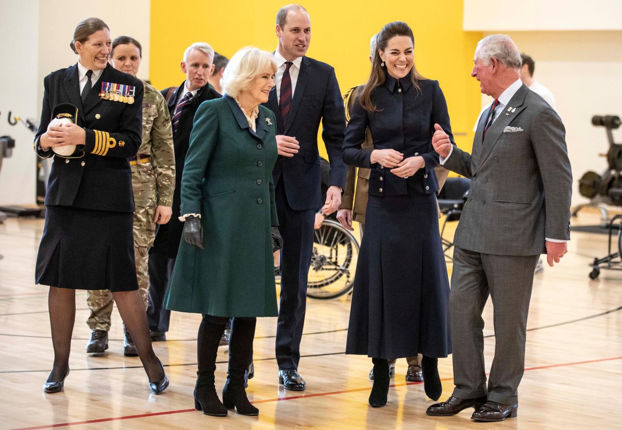 Książę Walli Księżna Kate Książę William