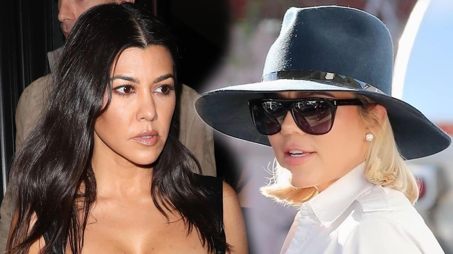 Khloe Kardashian w tajemniczym wpisie na Twitterze skrytykowała siostrę Kourtney za zrujnowanie wieczoru podczas Oscarów