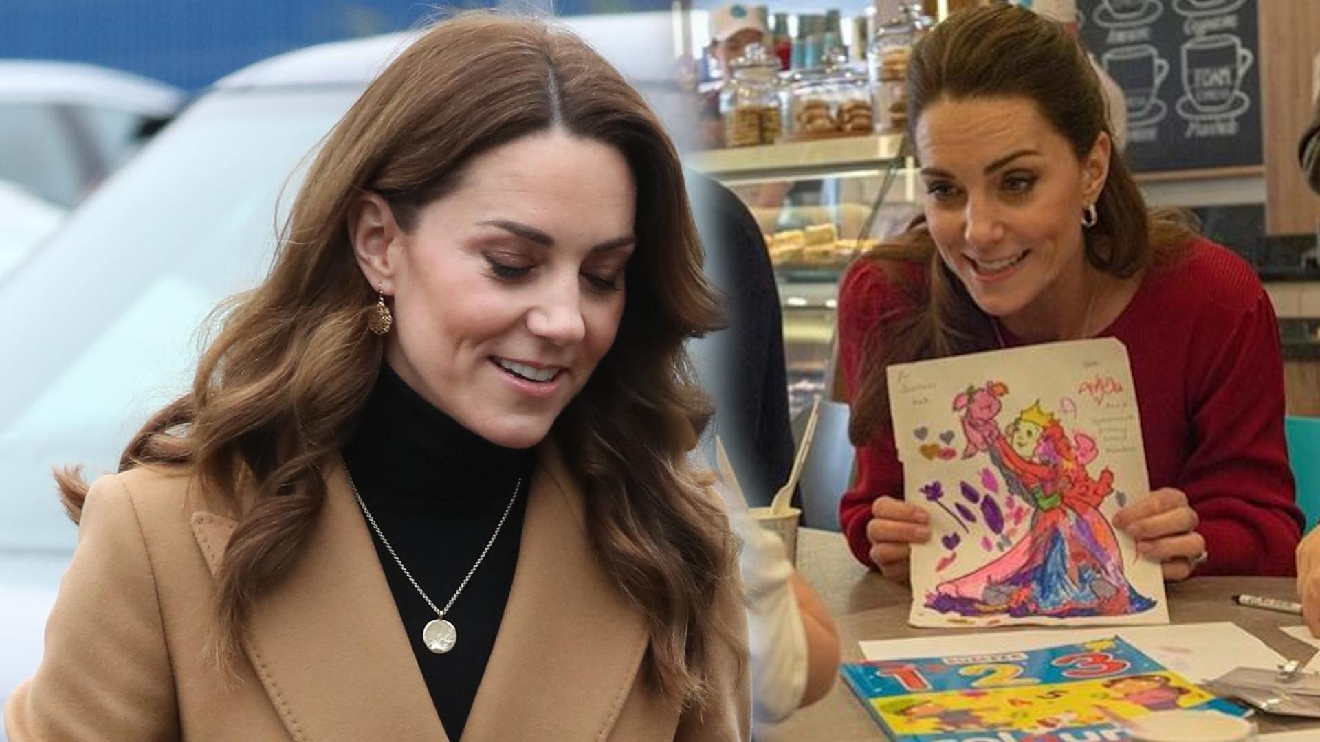 Dziewczynka była rozczarowana księżną Kate. Według niej NIE wyglądała jak KSIĘŻNICZKA