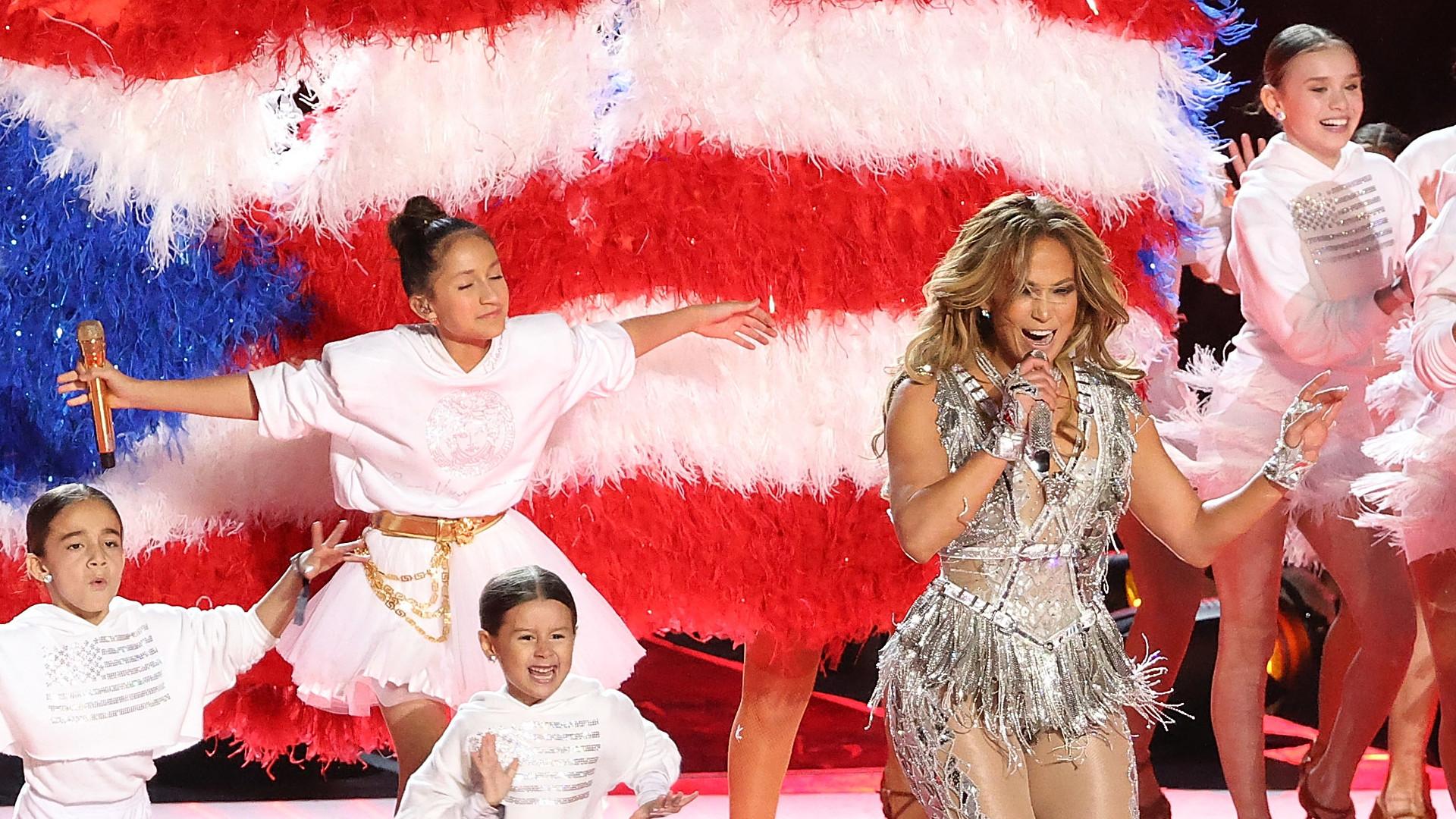 Córka Jennifer Lopez pójdzie w jej ślady? Na Super Bowl DAŁA CZADU!