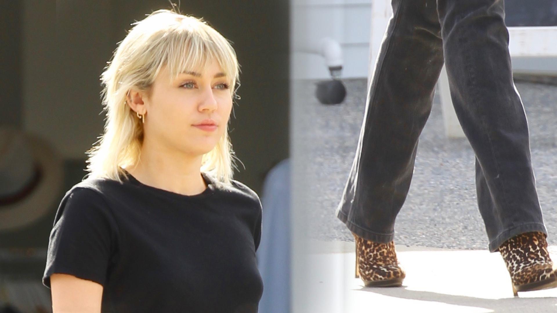 Miley Cyrus powinna nosić TAKIE jeansy cały czas. Ma w nich nogi jak modelka! (ZDJĘCIA)
