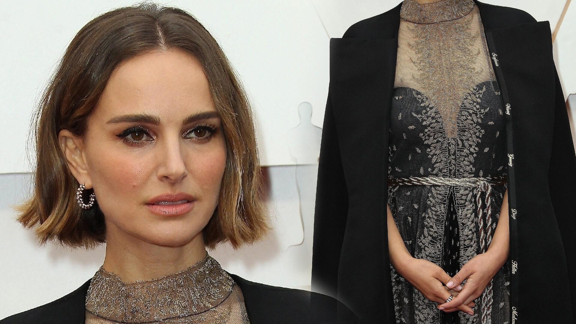 Natalie Portman w ciekawy sposób poruszyła problem różnorodności na Oscarach. Spójrzcie na jej kreację!