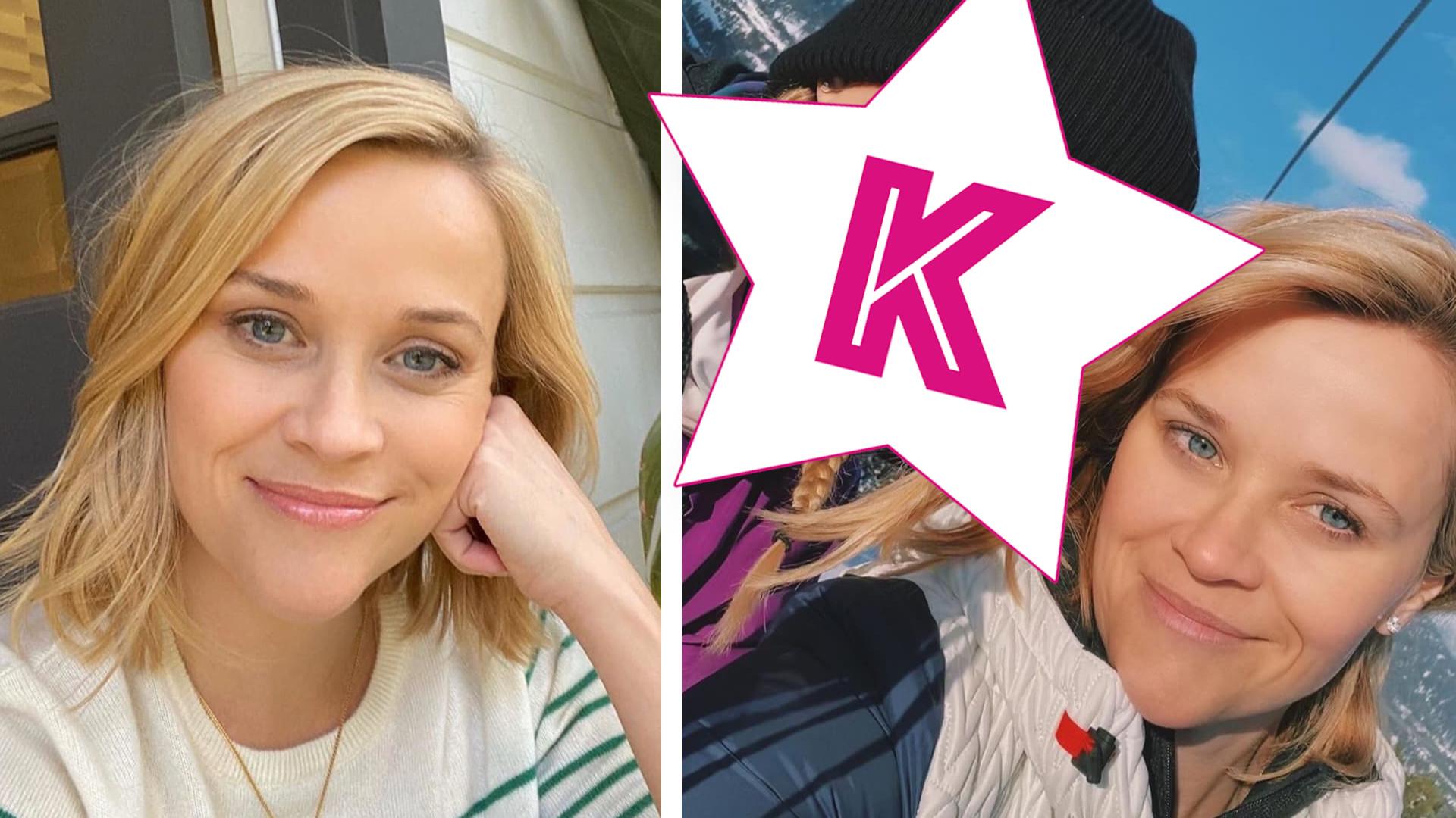 Reese Witherspoon i jej córka są jak DWIE KROPLE WODY (ZDJĘCIE)