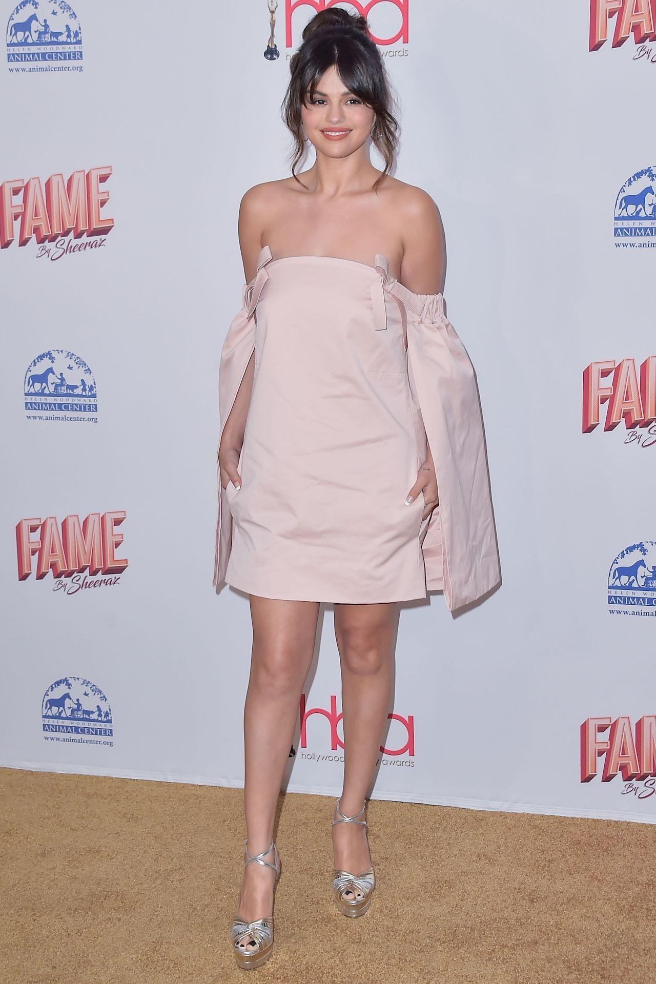 Selena Gomez na ściance
