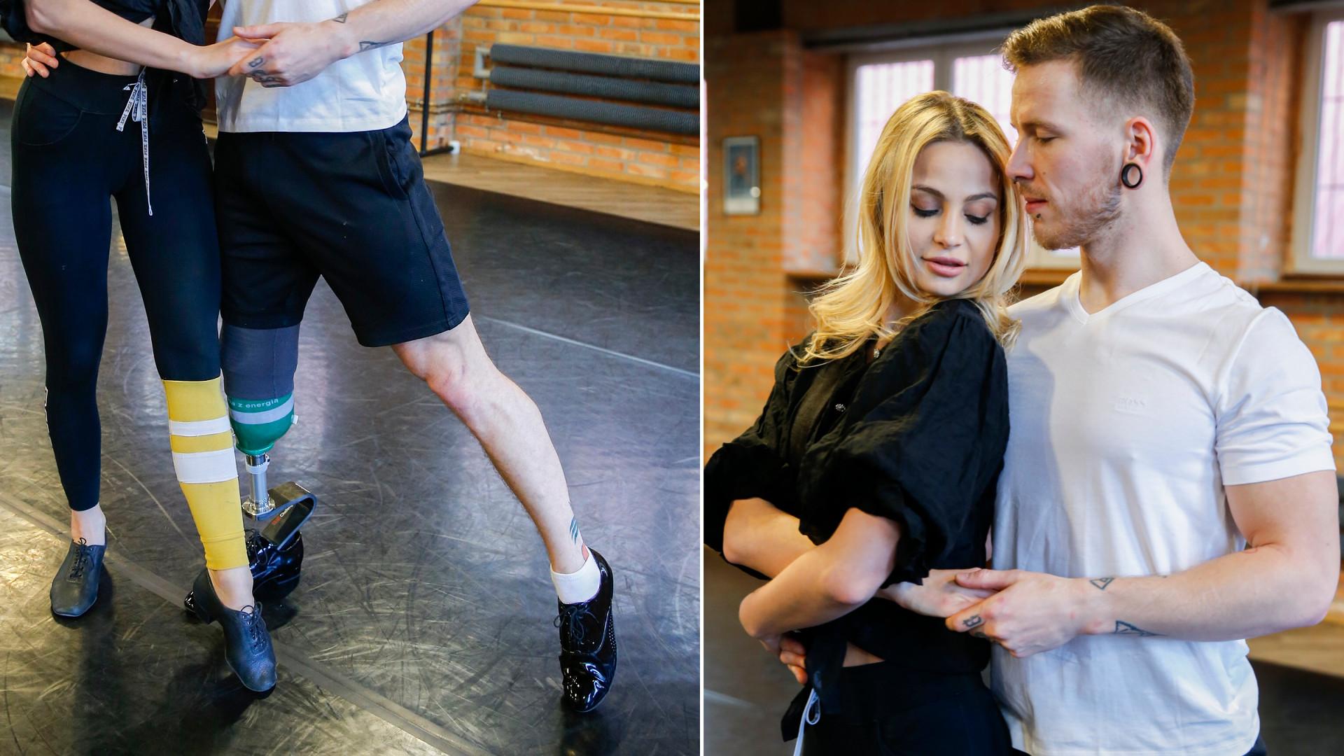 """Mamy najnowsze fotki z parkietu """"Tańca z Gwiazdami"""". Jeden z uczestników ma protezę nogi, a świetnie sobie radzi"""