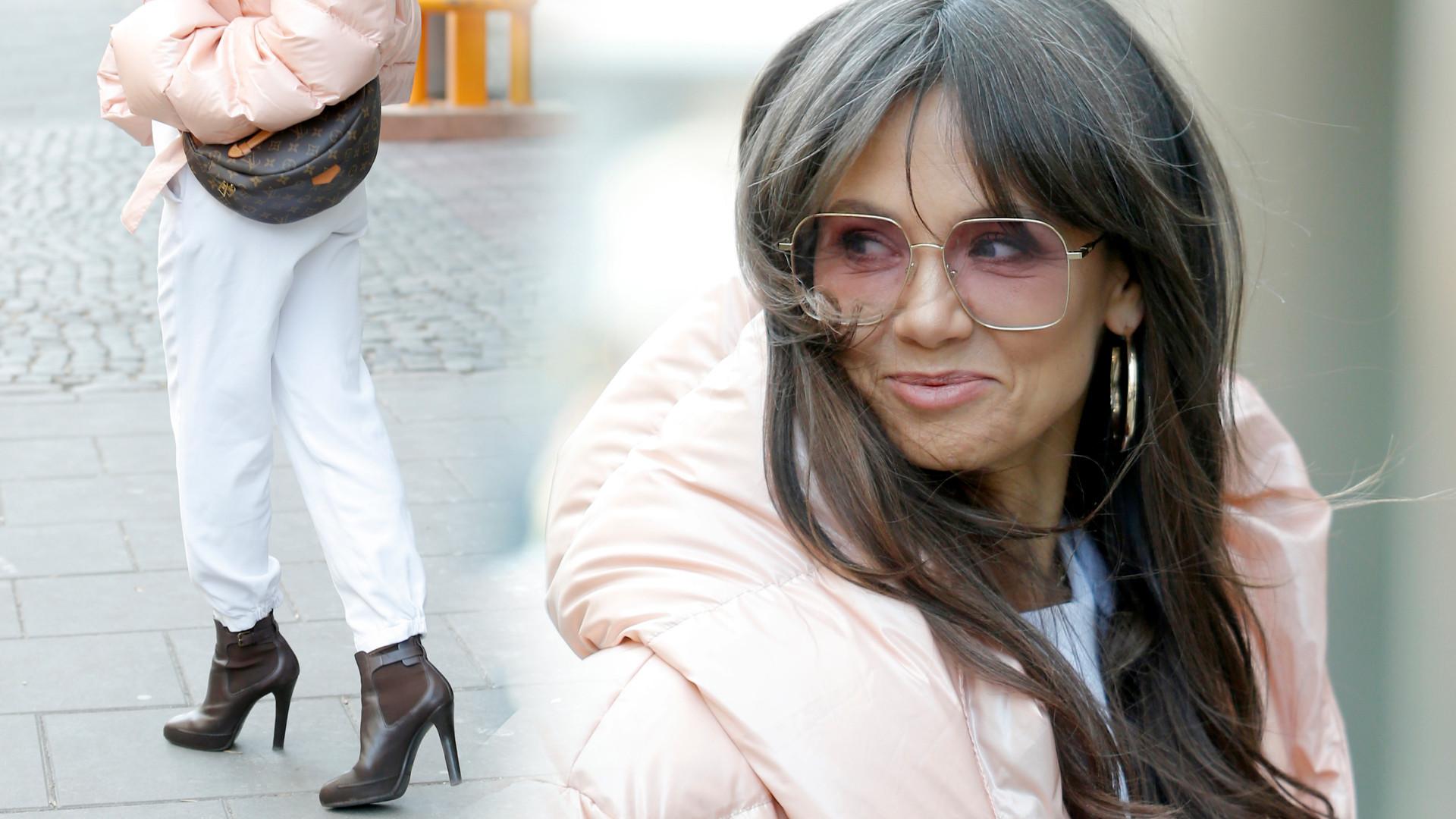 Gdyby Kinga Rusin zaczynała dziś karierę, śmiało mogłaby zostać modową influencerką (ZDJĘCIA)