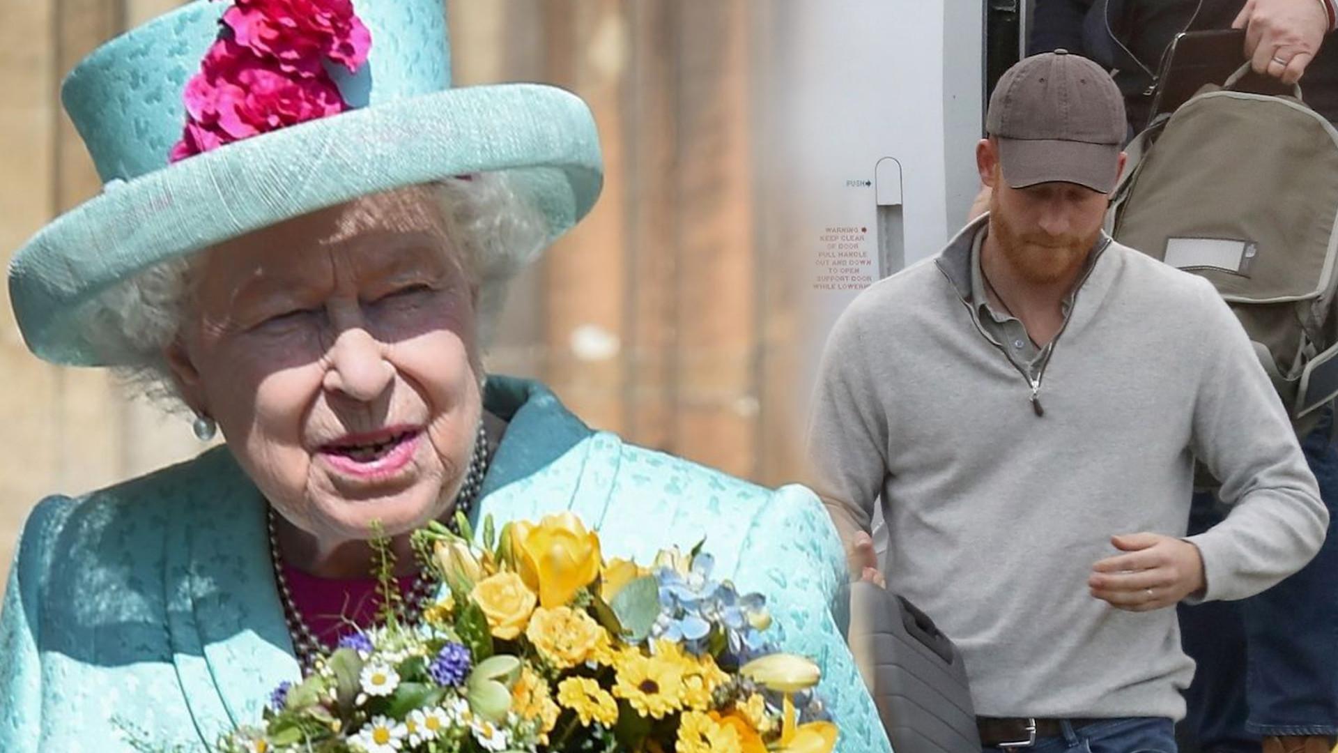 Królowa Elżbieta odbyła CZTEROGODZINNĄ rozmowę z księciem Harrym. Podjęli zaskakującą decyzję