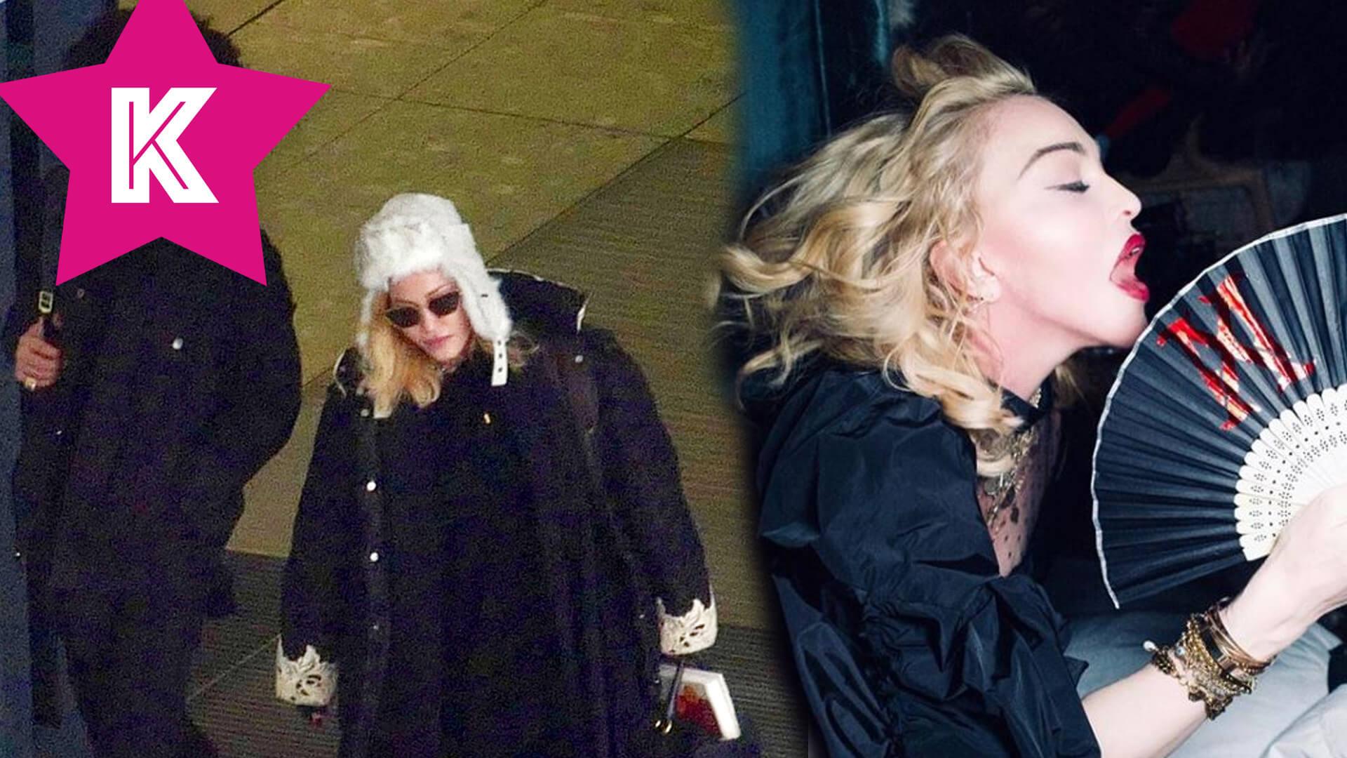 Madonna o LASCE z młodszym o 36 lat kochankiem wychodzi za rękę z hotelu (FOTO)