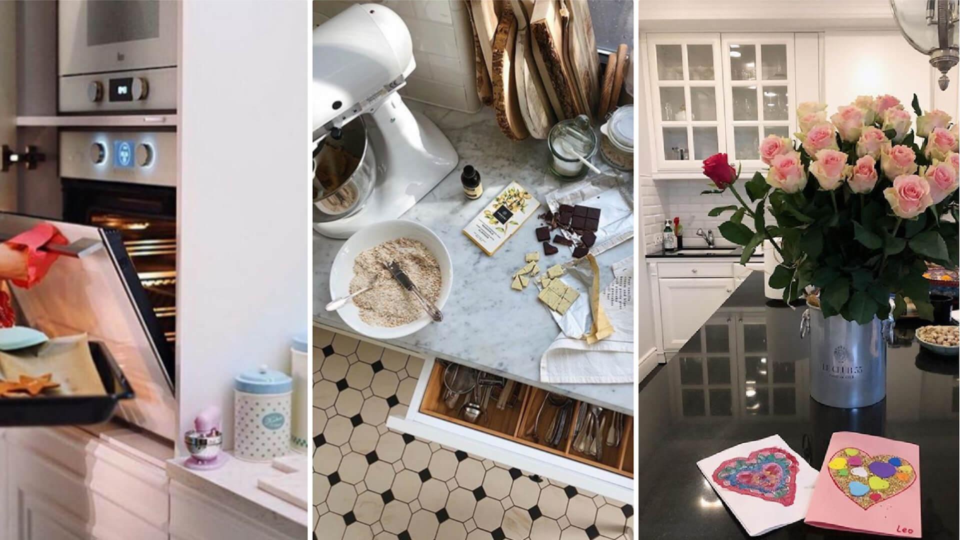 Jak urządziły swoje kuchnie gwiazdy? Siwiec, Rozenek-Majdan, Julia Wieniawa – zobaczcie!