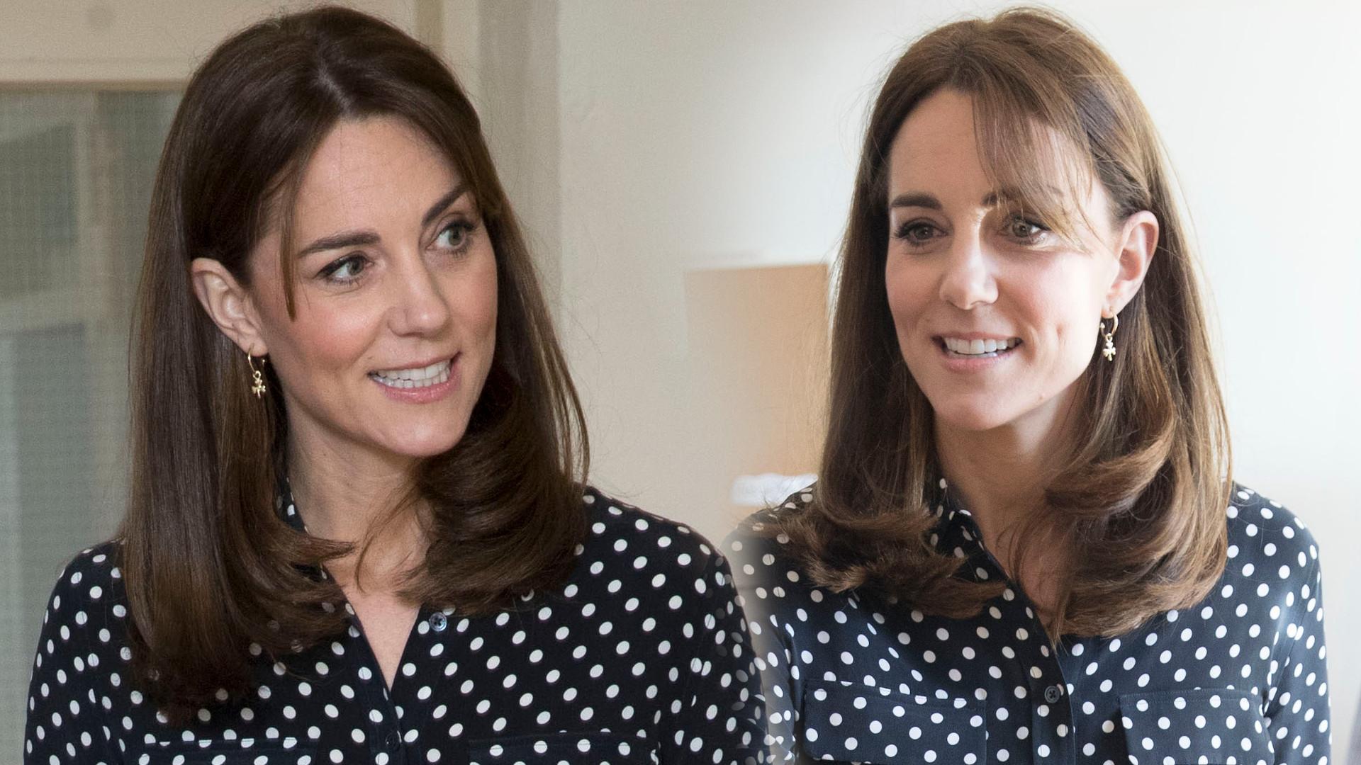 Księżna Kate w koszuli i czarnych rurkach. Dopiero teraz widać, jaka jest CHUDA (ZDJĘCIA)