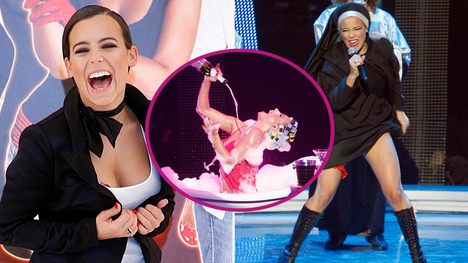 Jak ona FAŁSZOWAŁA! 12 lat temu Anna Mucha wystąpiła w Jak oni śpiewają i DAŁA CZADU (ZDJĘCIA+VIDEO)