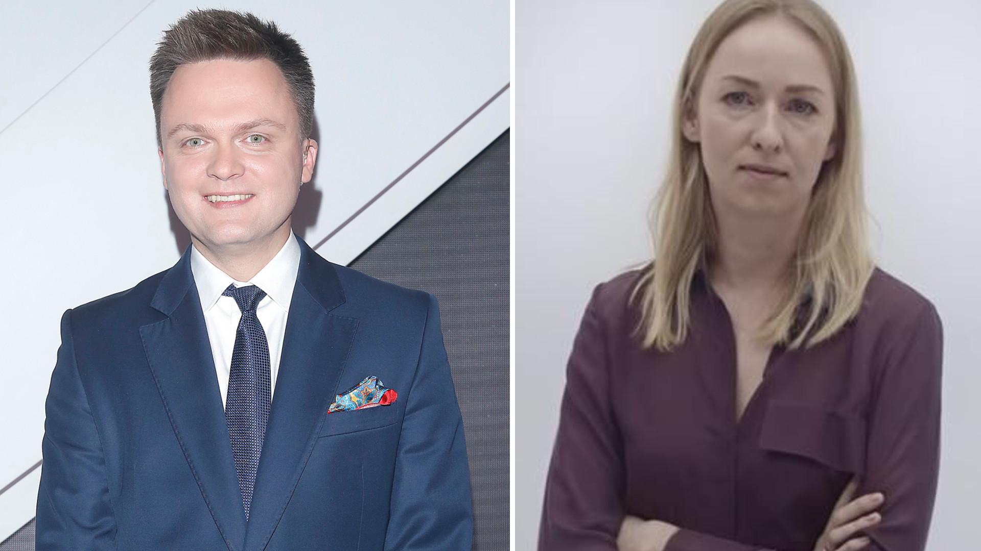 Żona Szymona Hołowni wystąpiła w jego spocie wyborczym