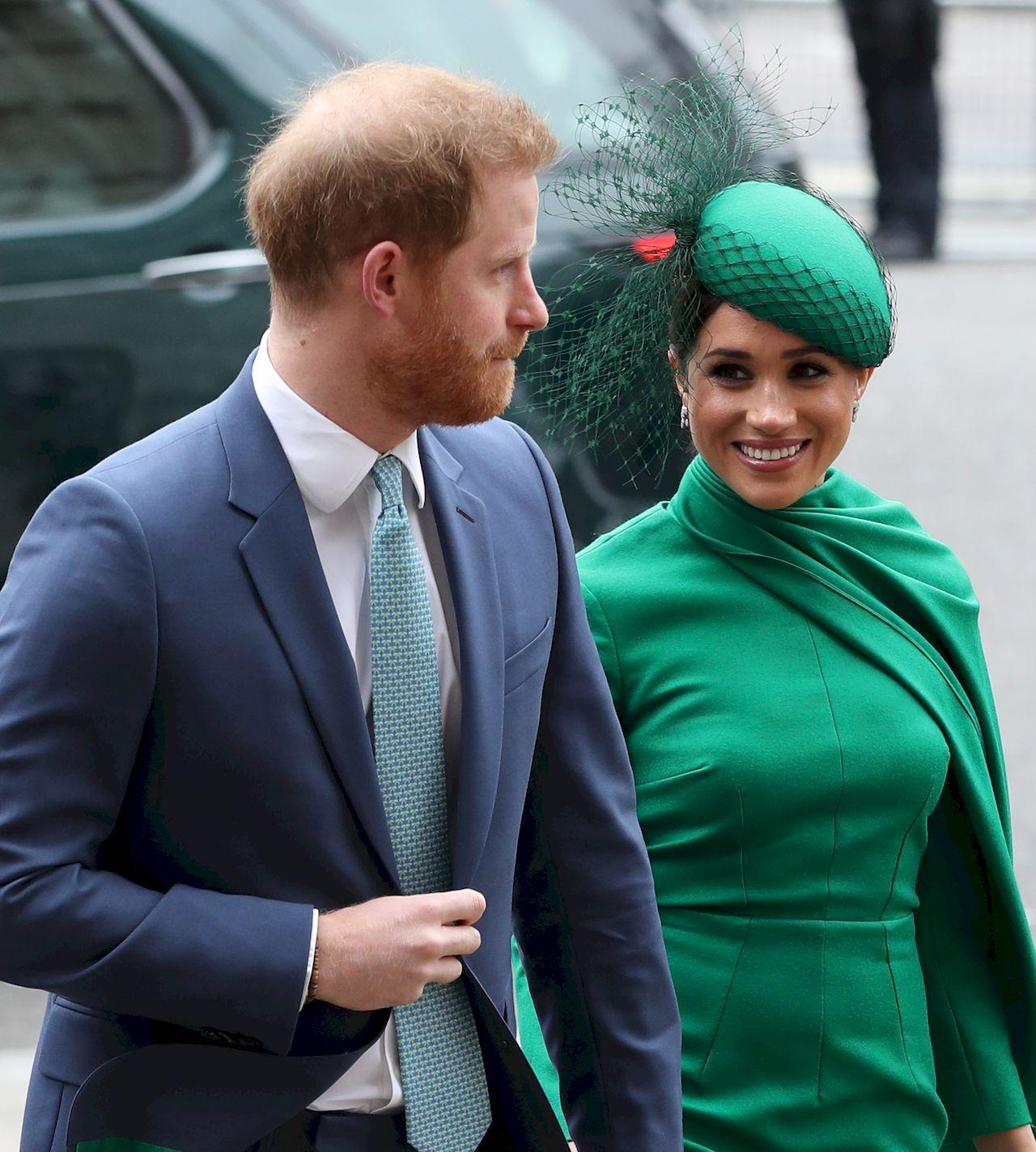 Meghan Markle i książę Harry na ostatnim królewskim wyjściu