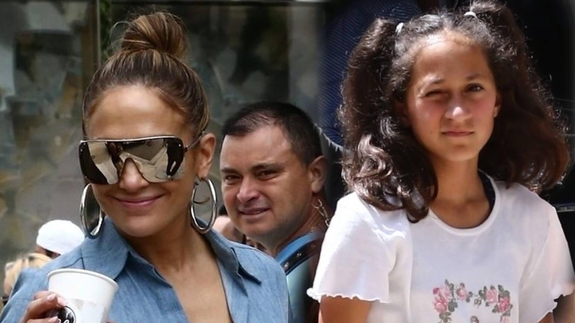 """Z cyklu """"Kiedy jesteś córką Jennifer Lopez"""" i masz możliwość spotkać twarzą w twarz swojego idola"""