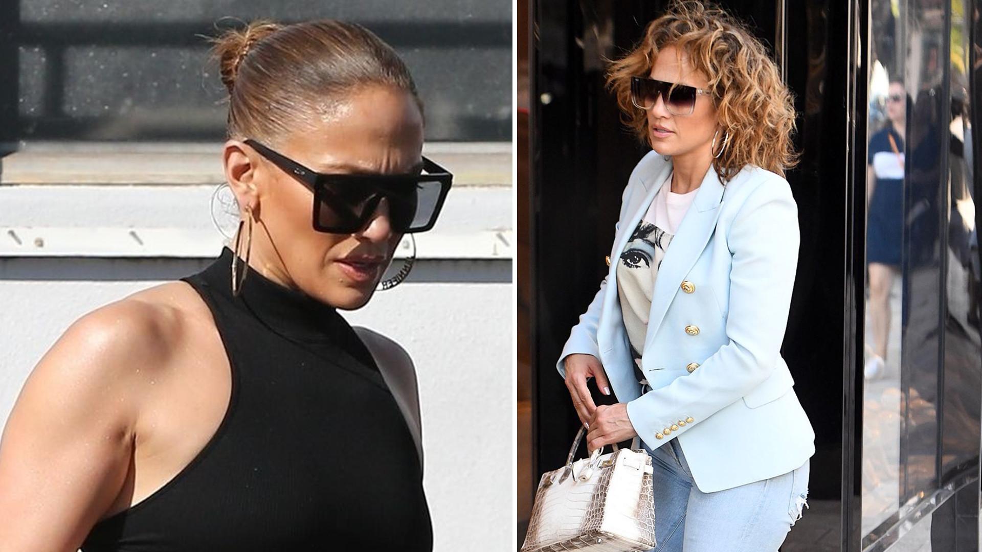Królowa trendów? AKURAT! Jennifer Lopez ma NIEMODNY manicure (ZDJĘCIA)