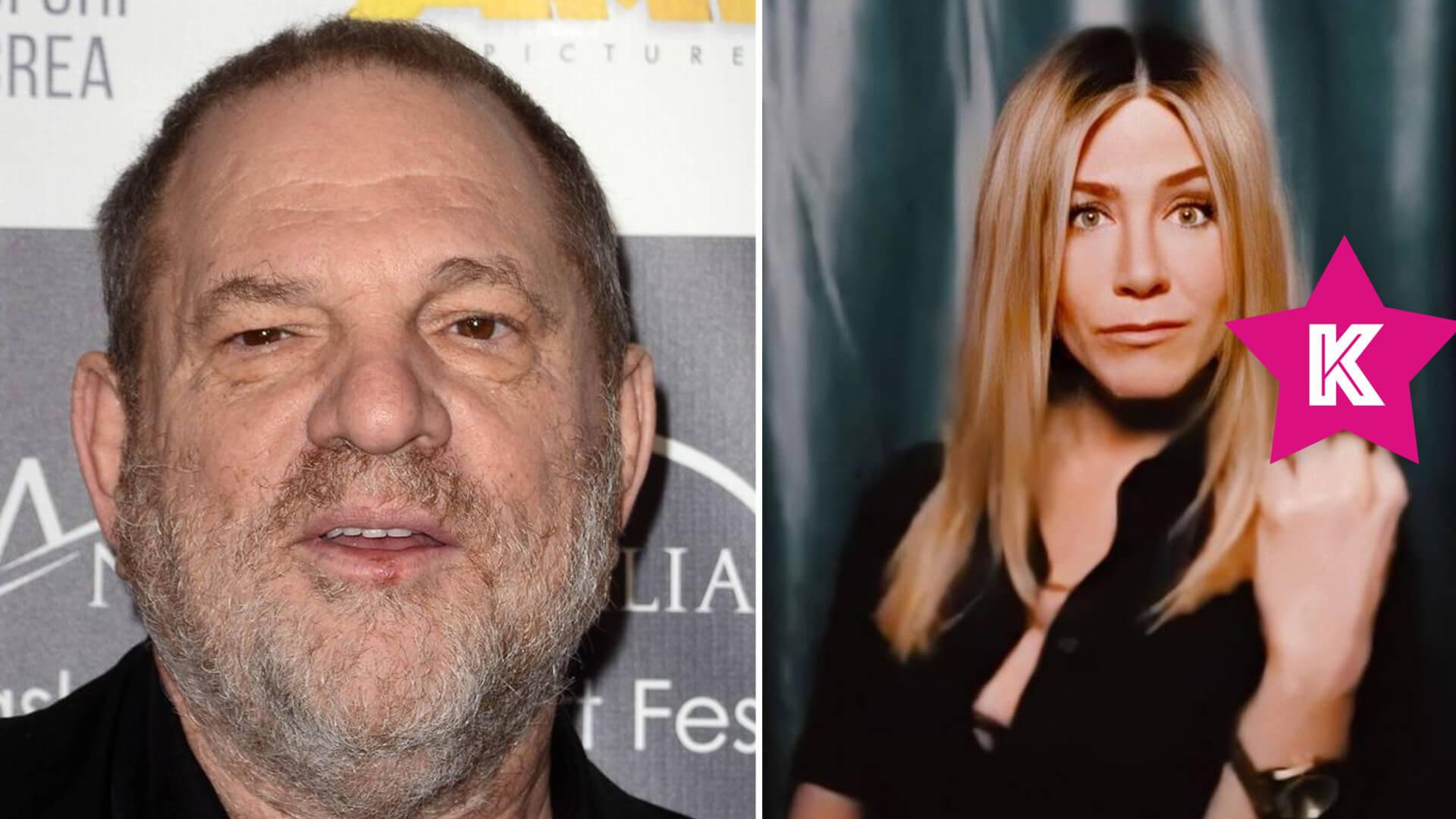 """Harvey Weinstein w ujawnionym mailu napisał, że Jennifer Aniston """"powinna zostać ZABITA"""""""