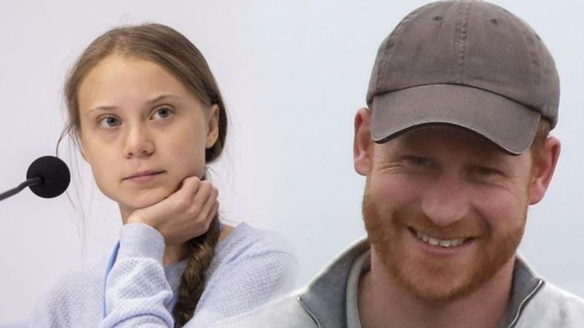 Książę Harry potwornie sprankowany – myślał, że rozmawia z Gretą Thunberg a tymczasem…