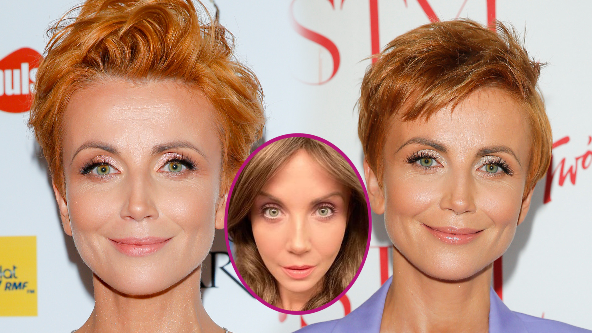 WOW! Katarzyna Zielińska w DŁUGICH włosach wygląda OBŁĘDNIE!