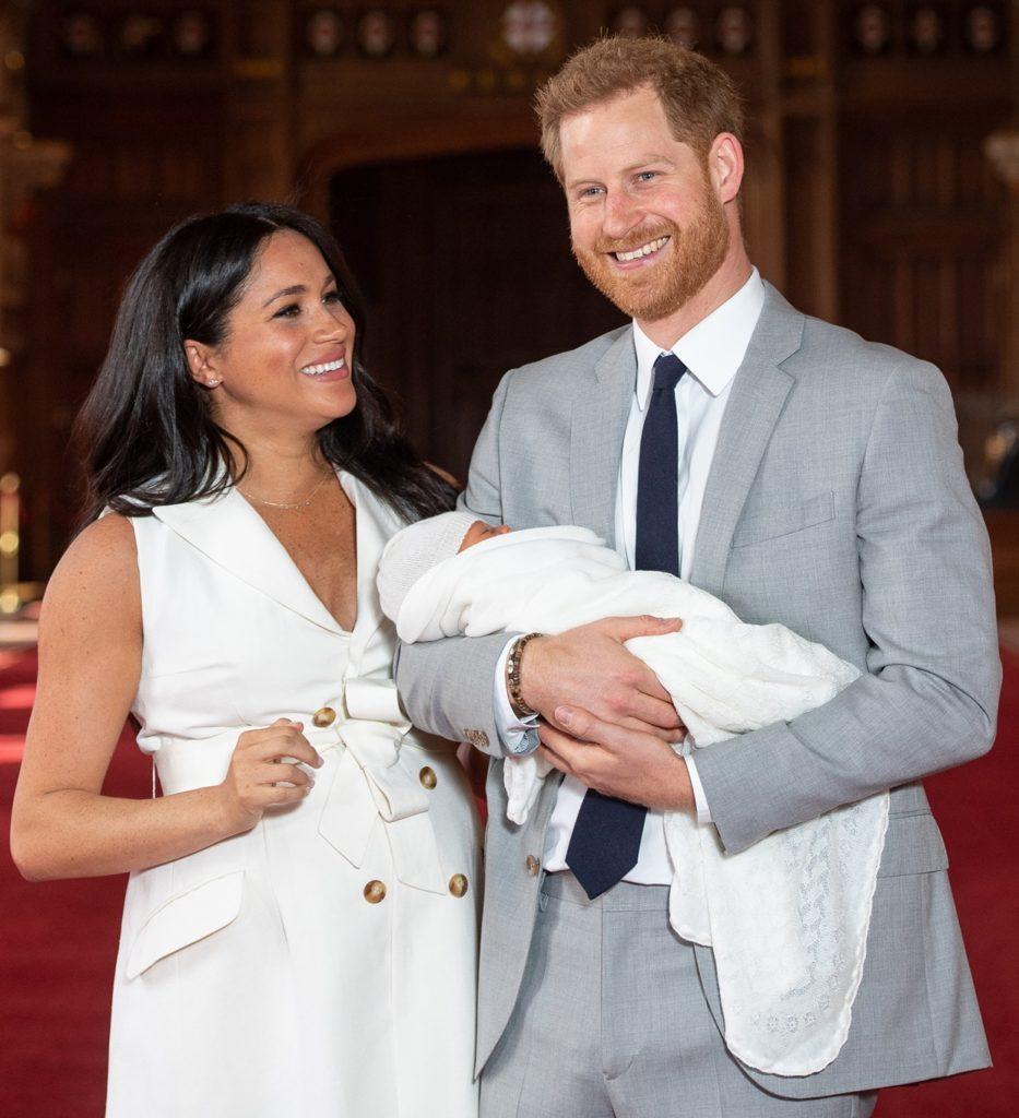 Meghan Markle i książę Harry pokazali małego Archiego.