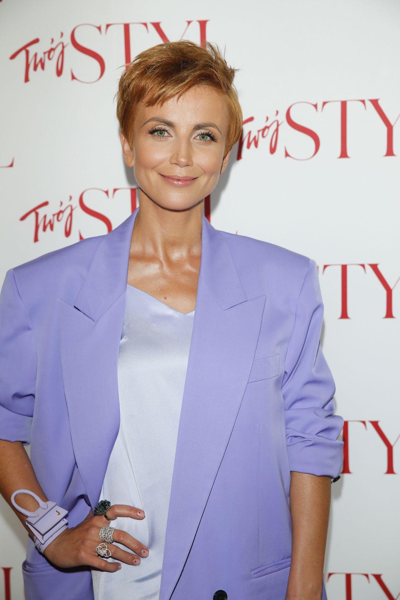 Katarzyna Zielińska w wiosennej stylizacji