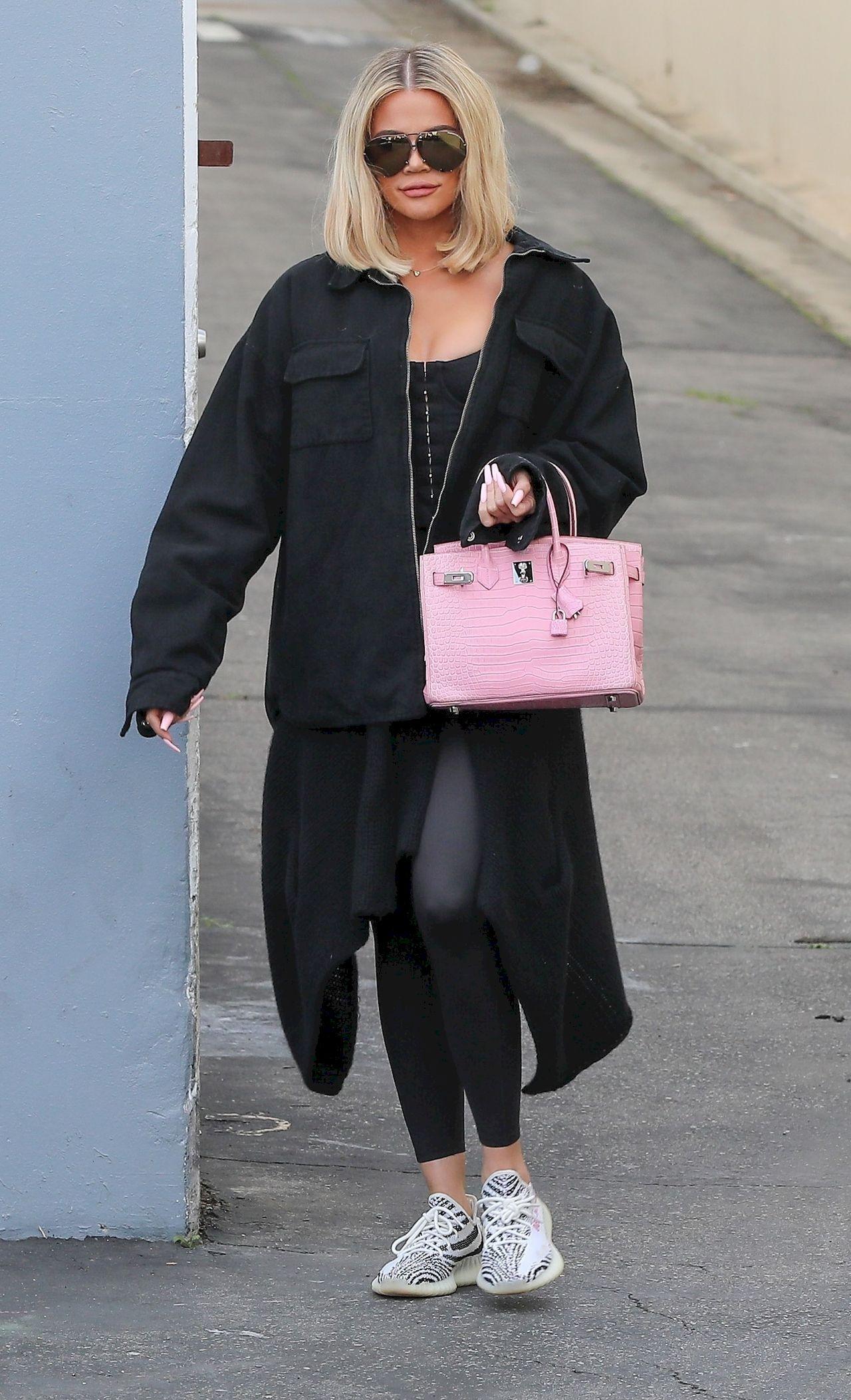 Khloe Kardashian w dłuższym bobie