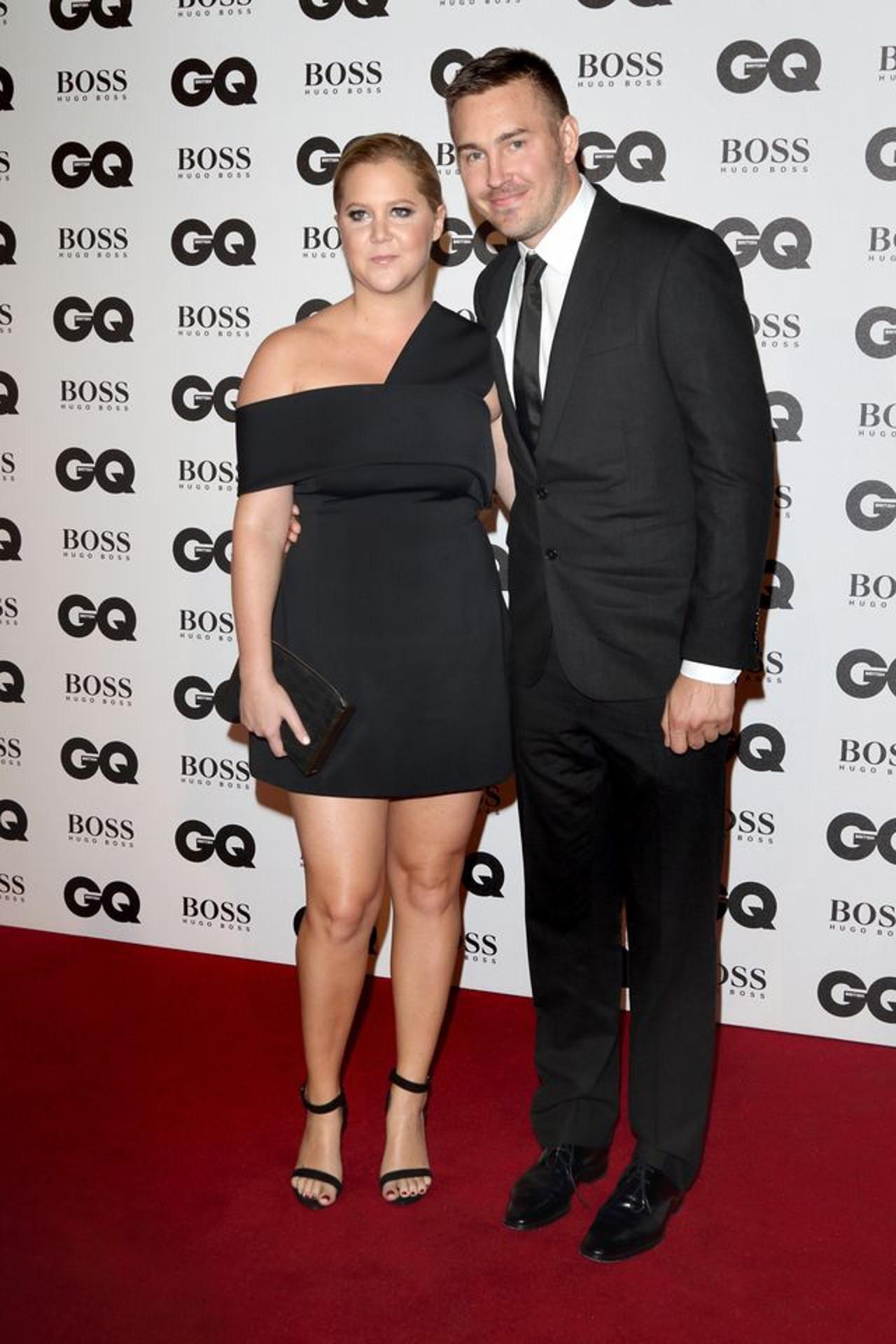 Amy Schumer z mężem