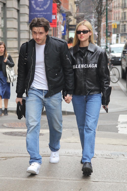 Brooklyn Beckham i Nicola Peltz przyłapani w Nowym Jorku.