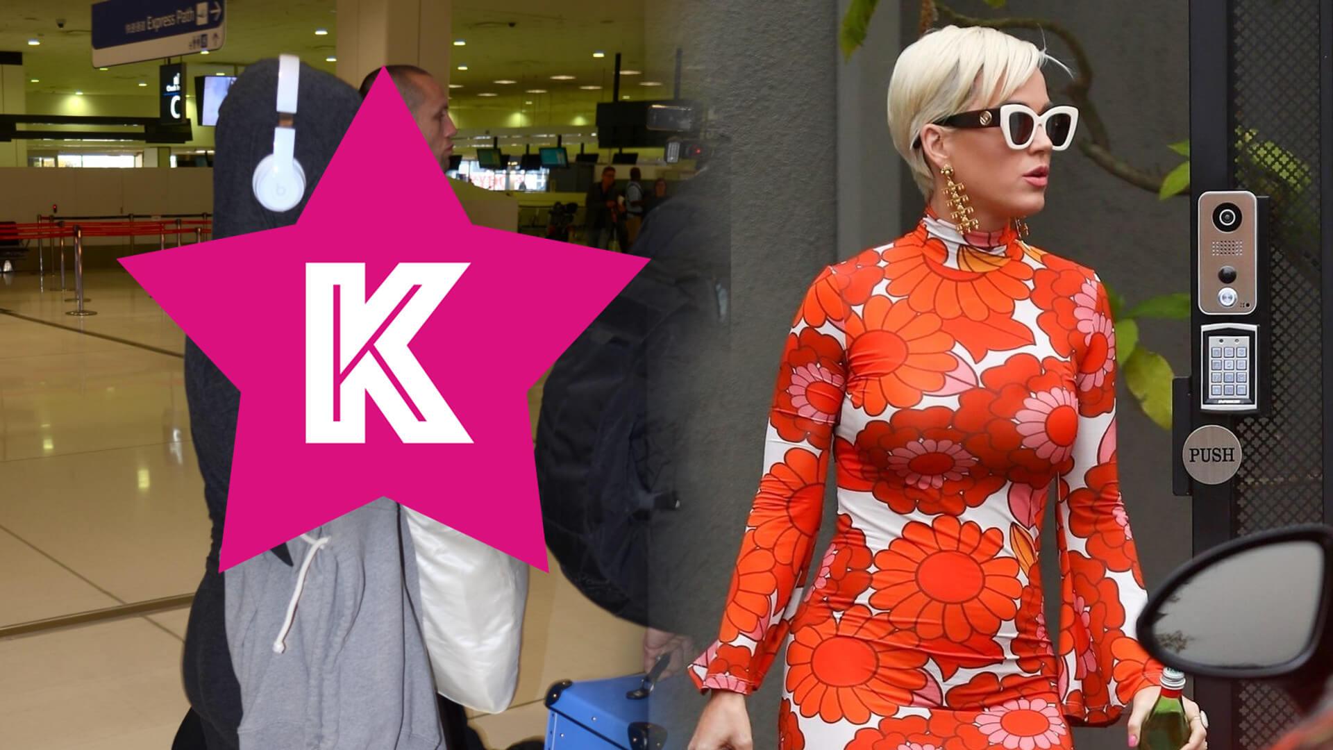 Ciężarna Katy Perry obawia się koronawirusa i zasłania się… PODUSZKĄ (FOTO)