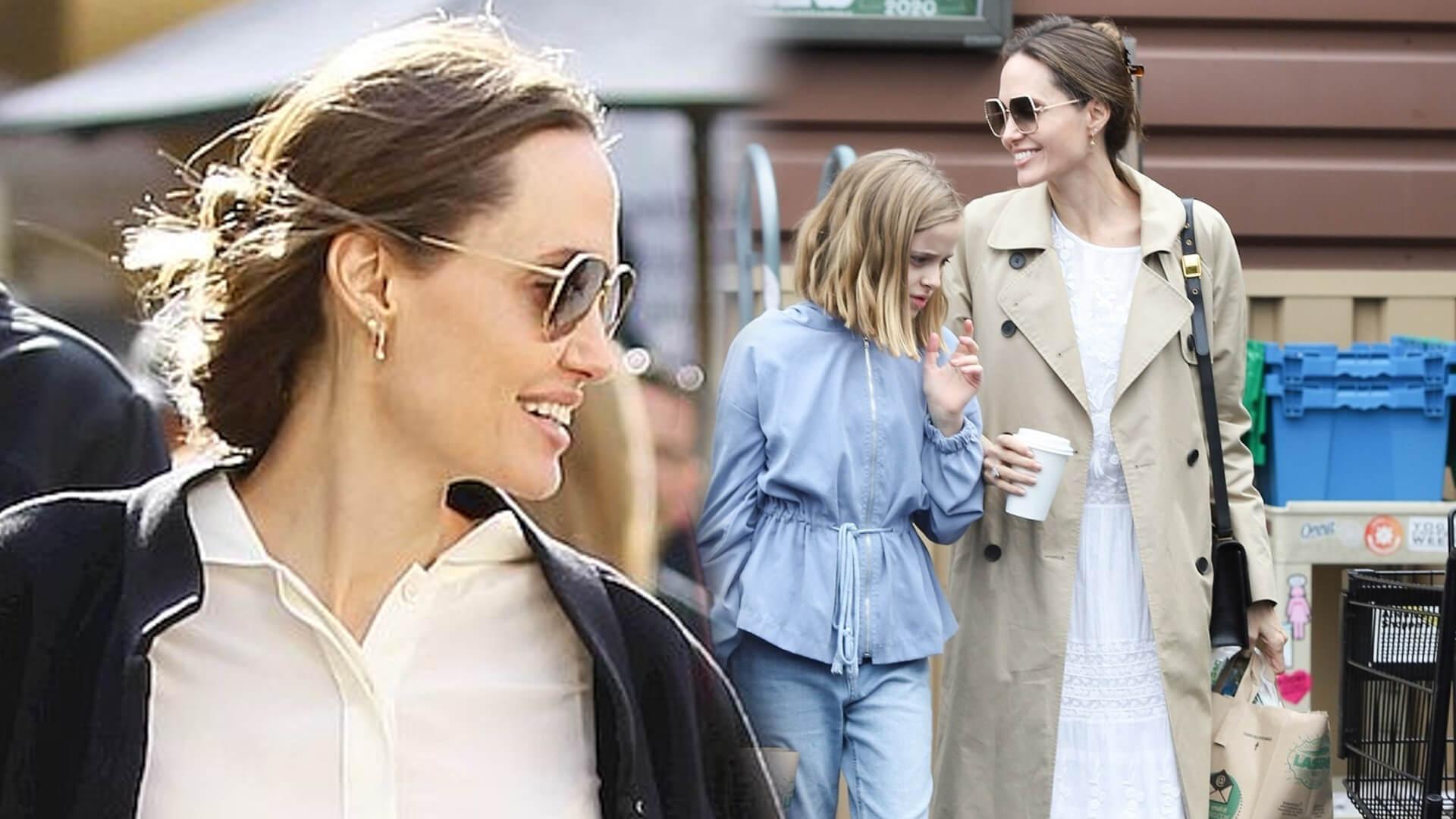 Angelina Jolie nie jest wyjątkiem. Tak jak inni robi zapasy spożywcze (FOTO)