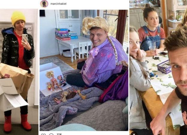 Celebryci i gwiazdy pokazują, jak zostają w domu podczas epidemii koronawirusa