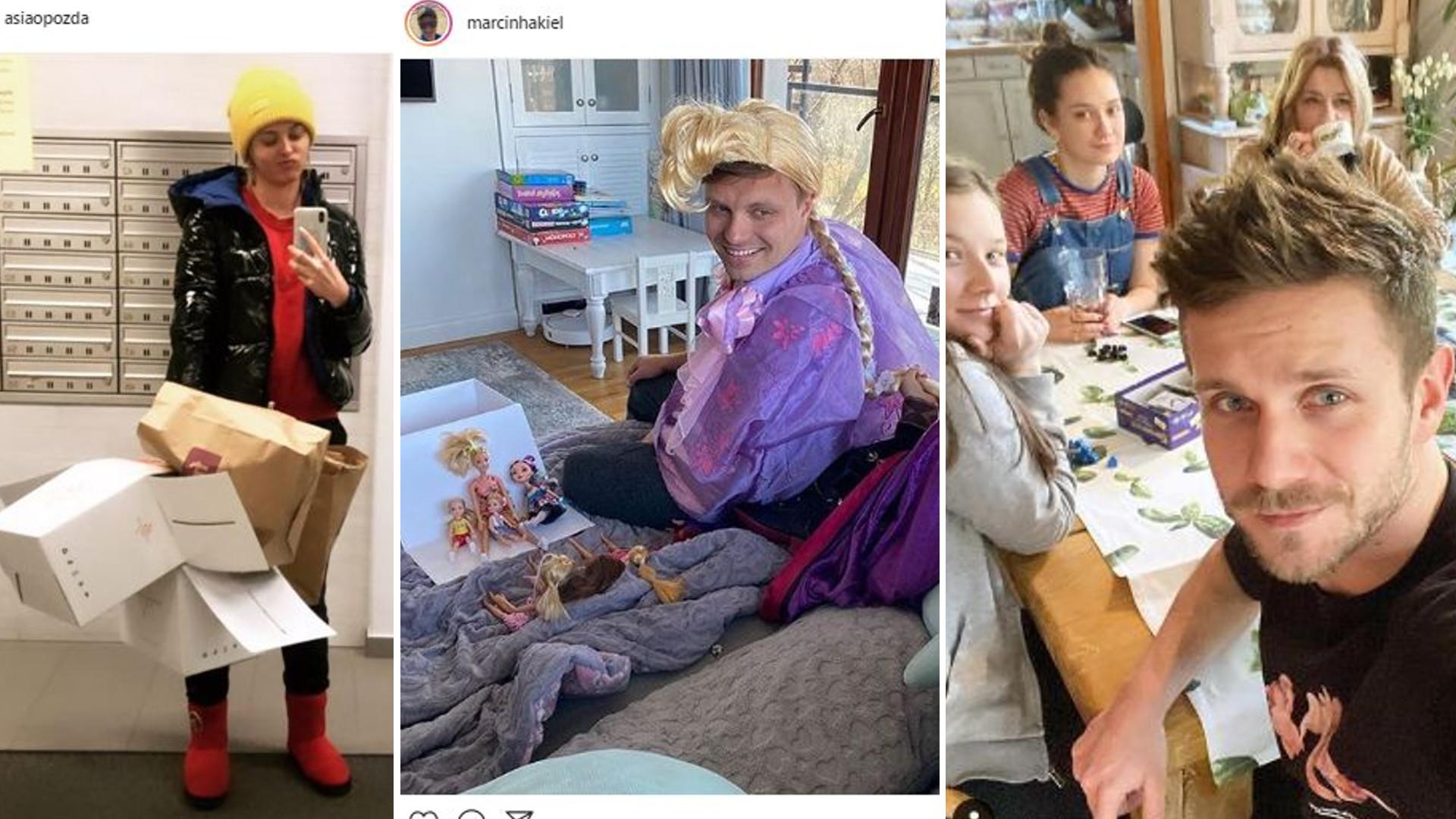 Polskie gwiazdy zostały w domu – gotują, czytają, szaleją z dziećmi – ZOBACZCIE!
