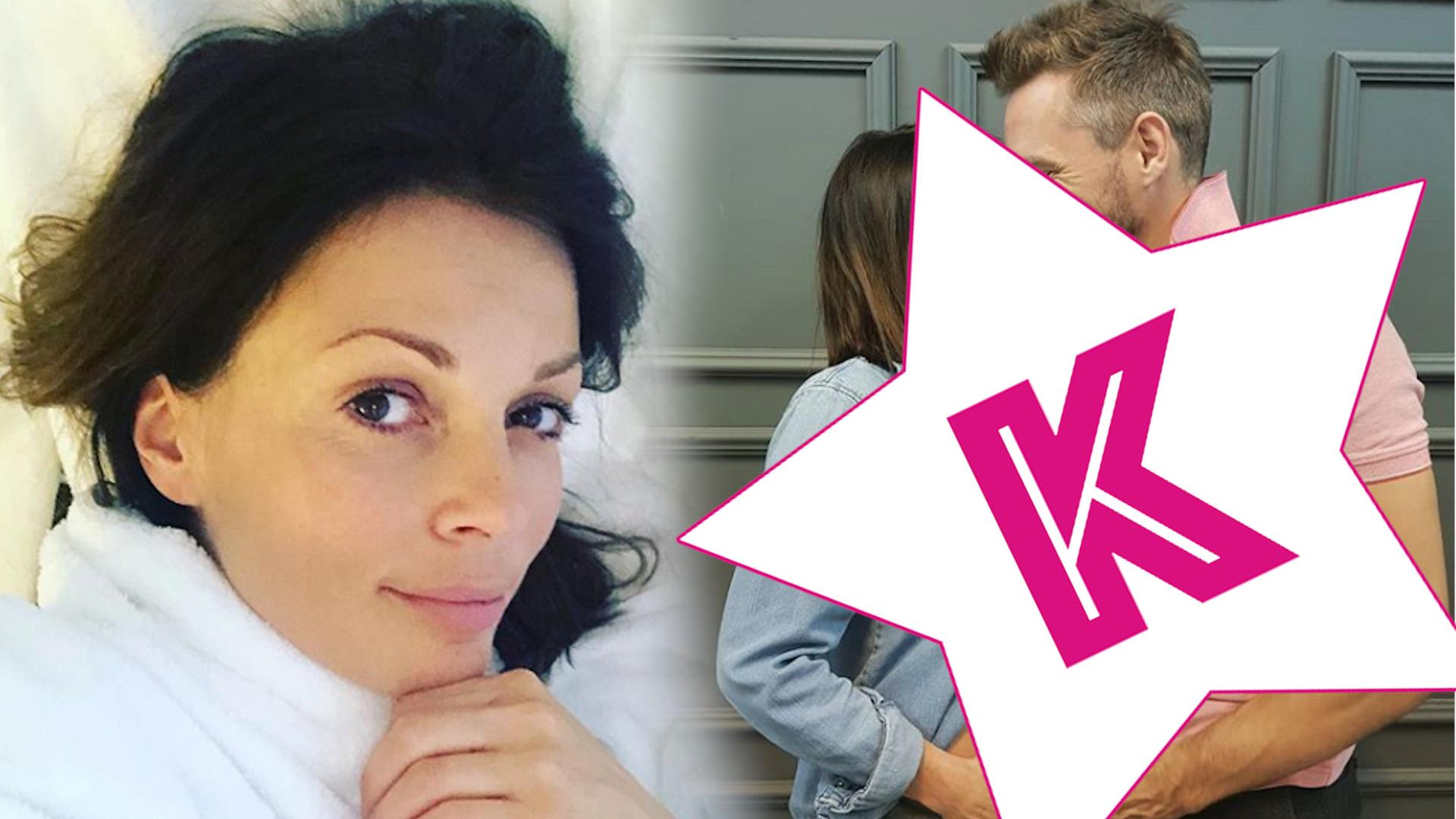 WOW! Partner Katarzyny Glinki pokazał nagi brzuszek aktorki