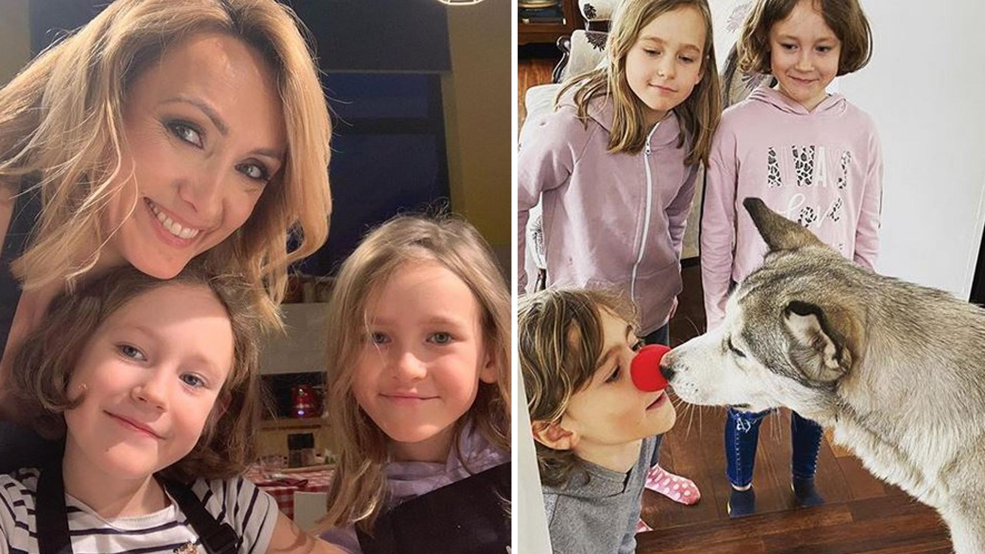 Anna Kalczyńska pokazuje, jak jej dzieci uczą się W DOMU. Zgłaszają się nawet do odpowiedzi!